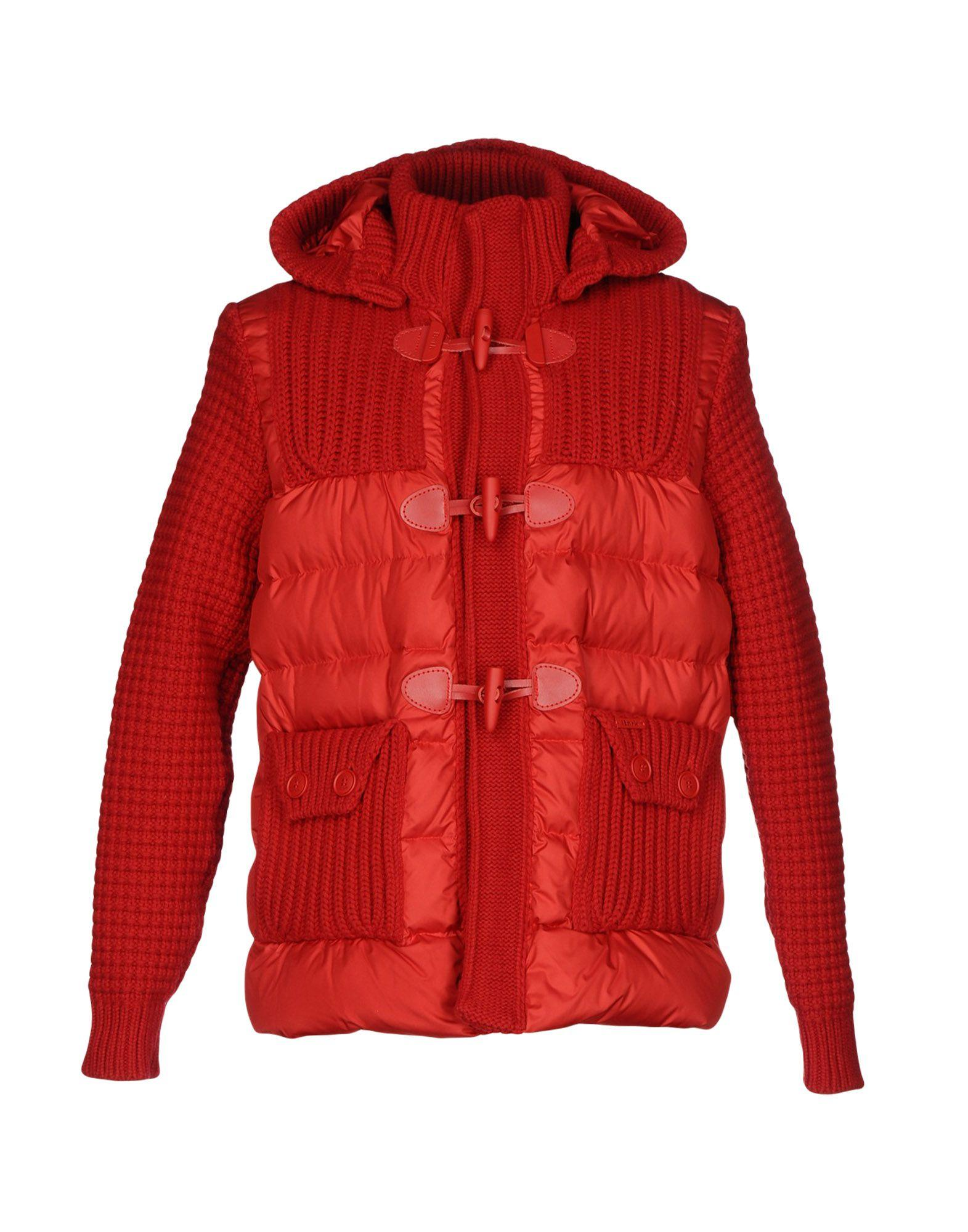 Bark Down Jacket In Red
