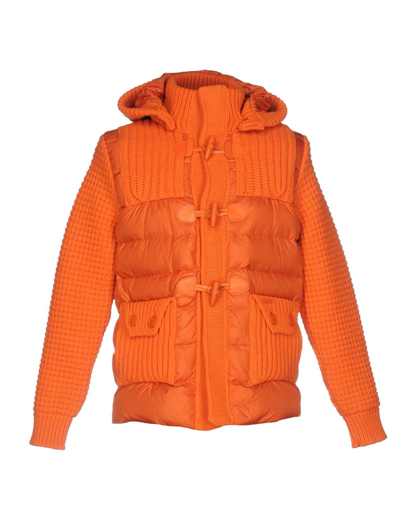 Bark Down Jackets In Orange
