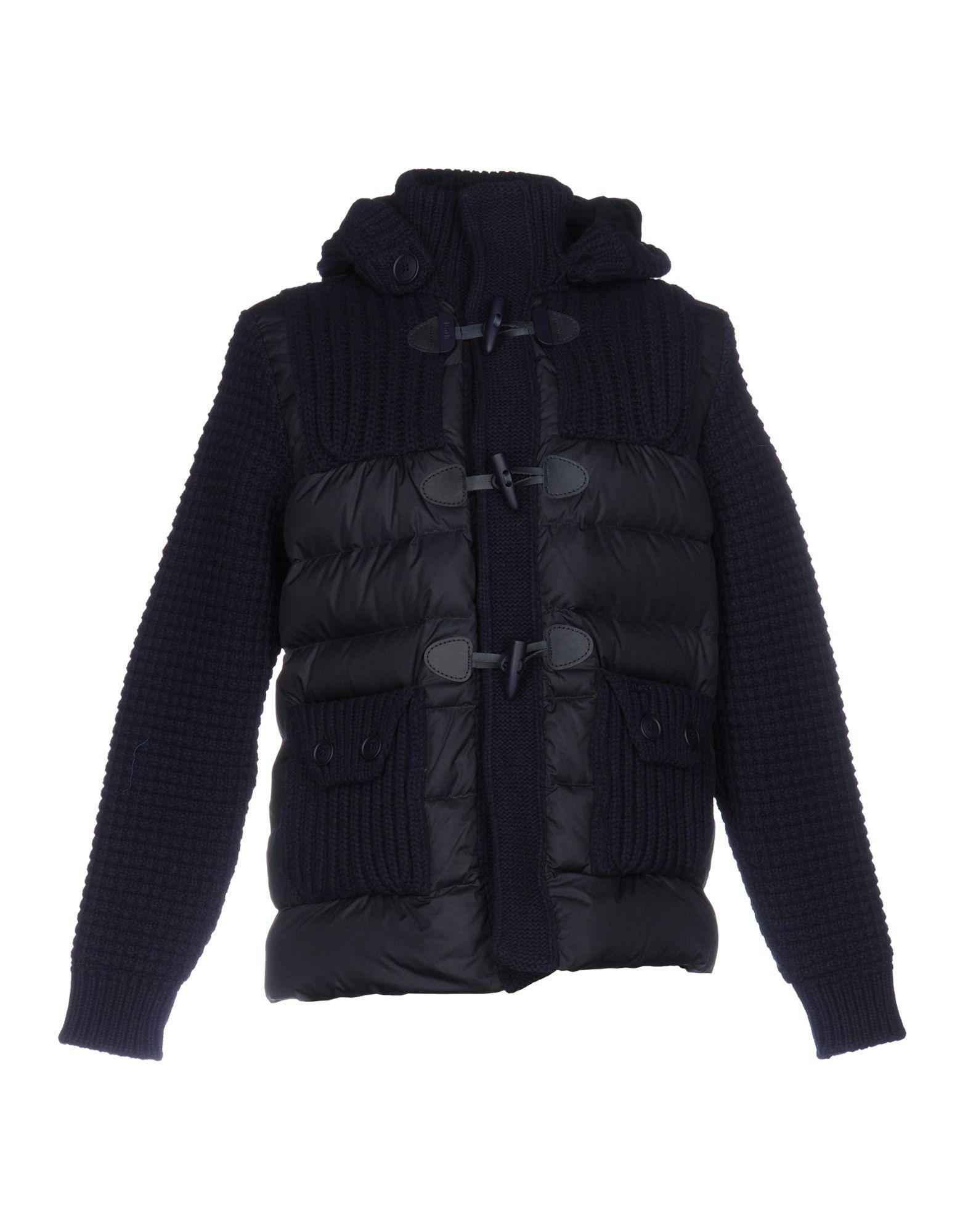 Bark Down Jackets In Dark Blue