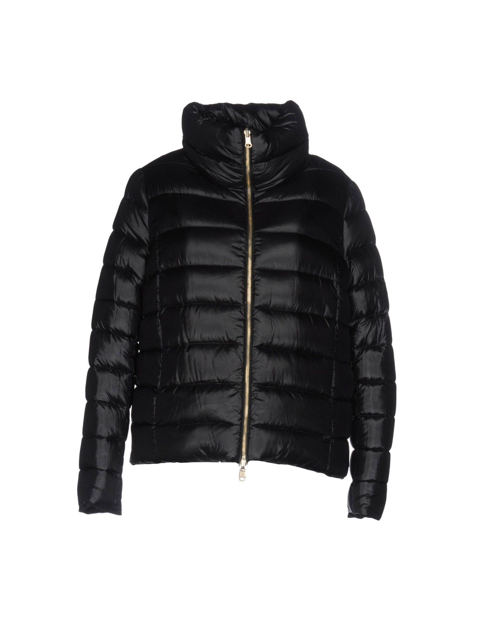 Atos Lombardini Down Jackets In Black
