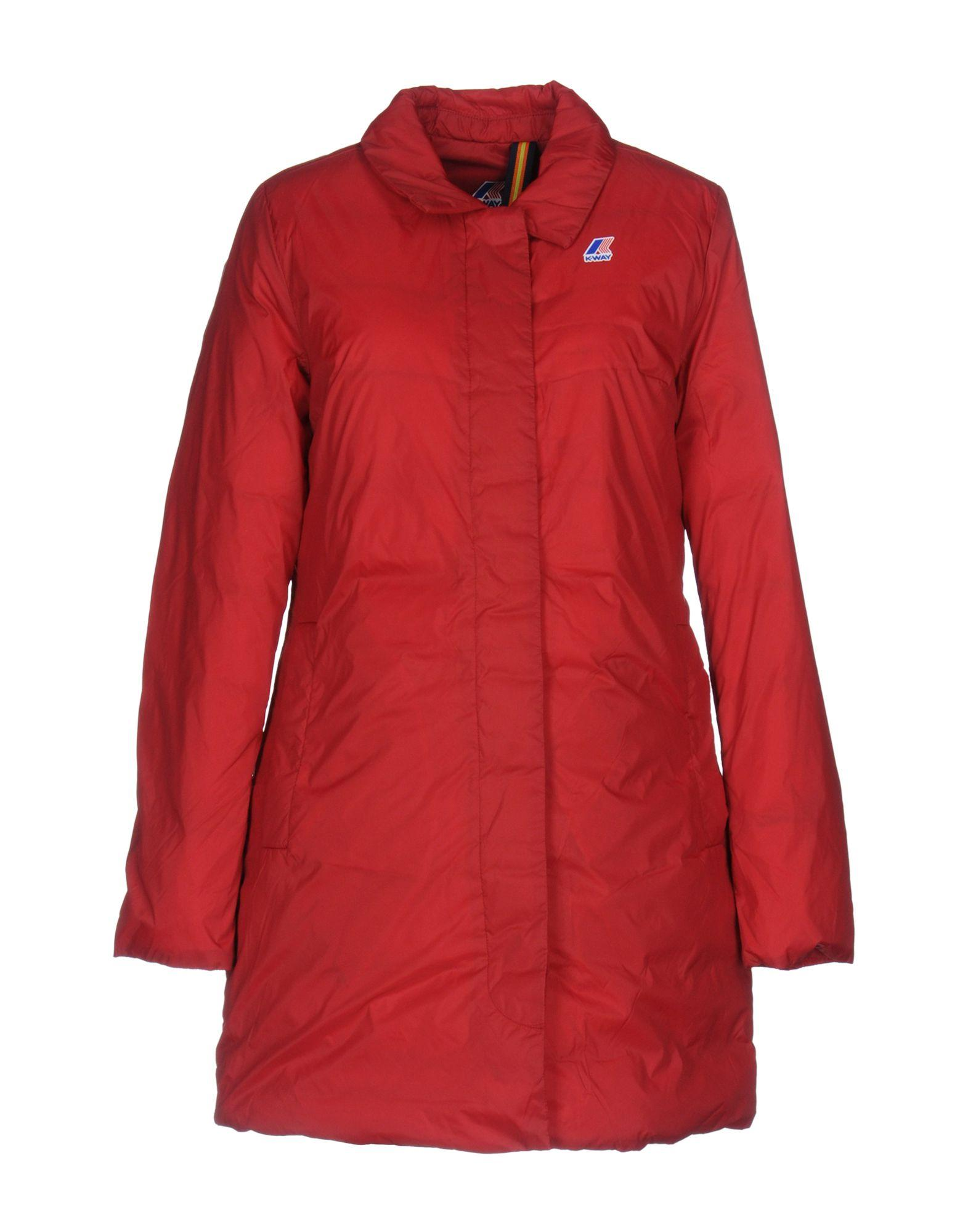 K-way Down Jacket In Red