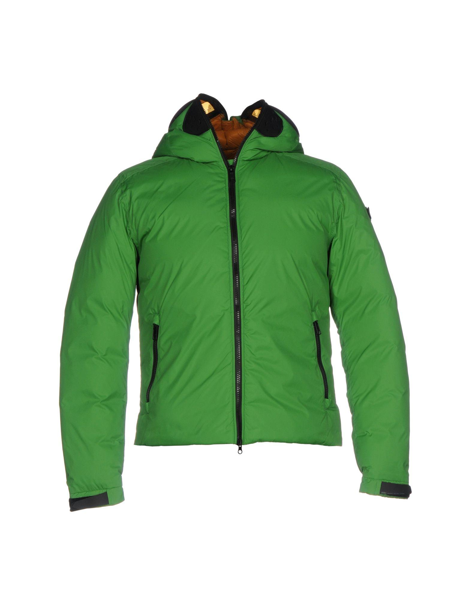 Ai Riders On The Storm Down Jacket In Green