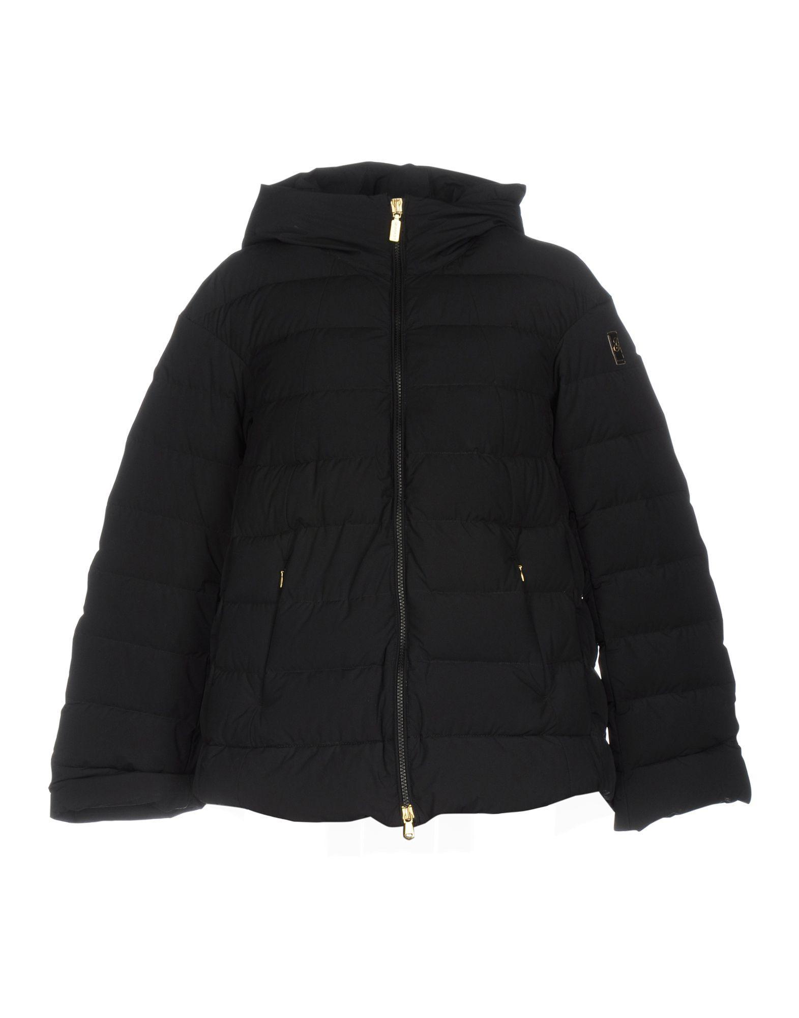 Geospirit Down Jackets In Black
