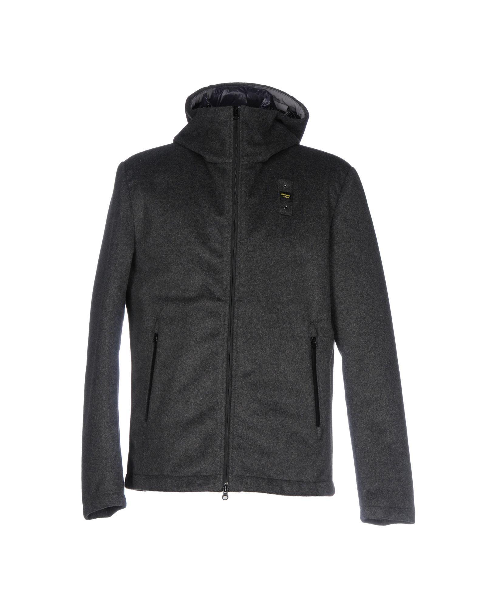 Blauer Down Jacket In Grey