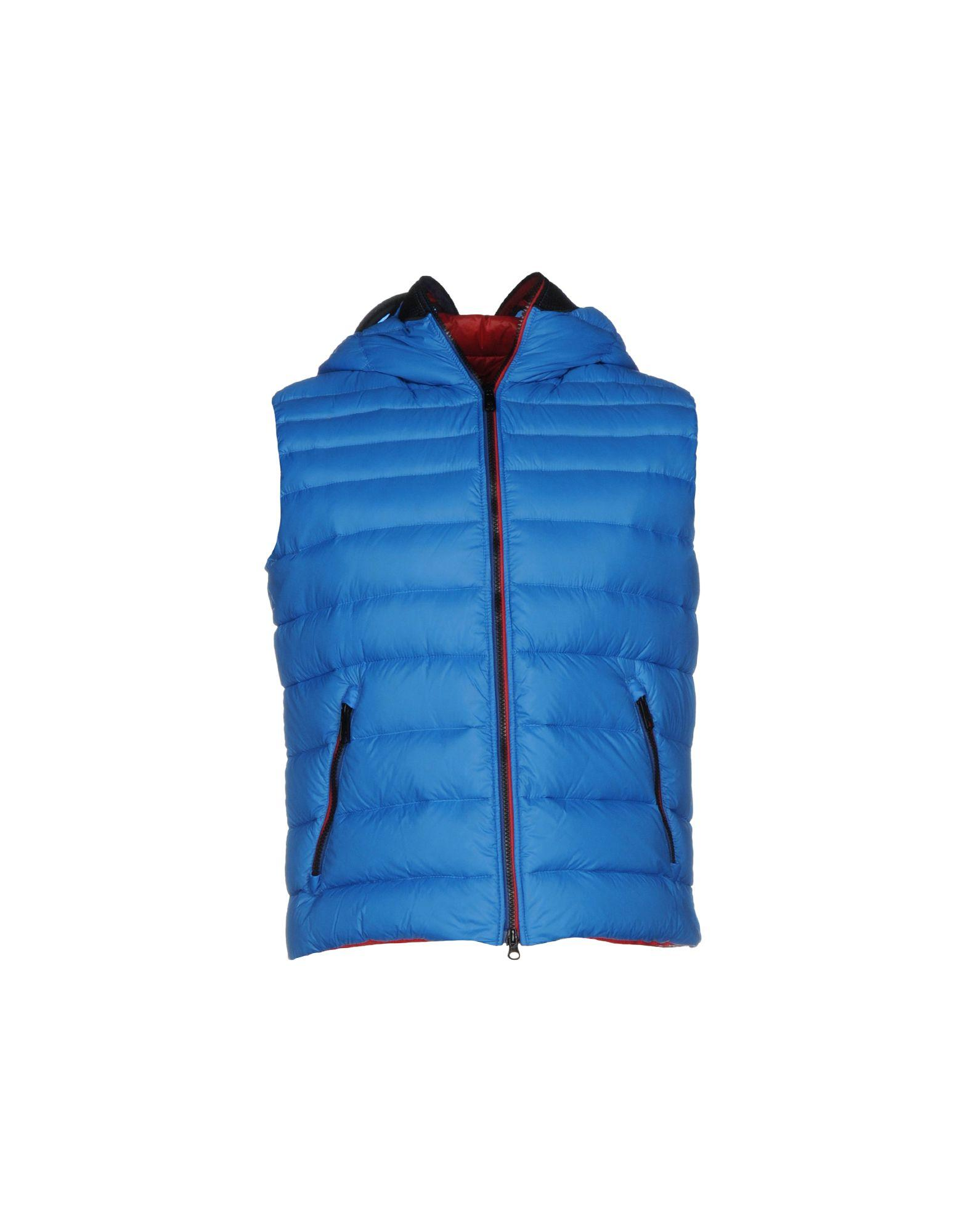 Ai Riders On The Storm Down Jacket In Azure