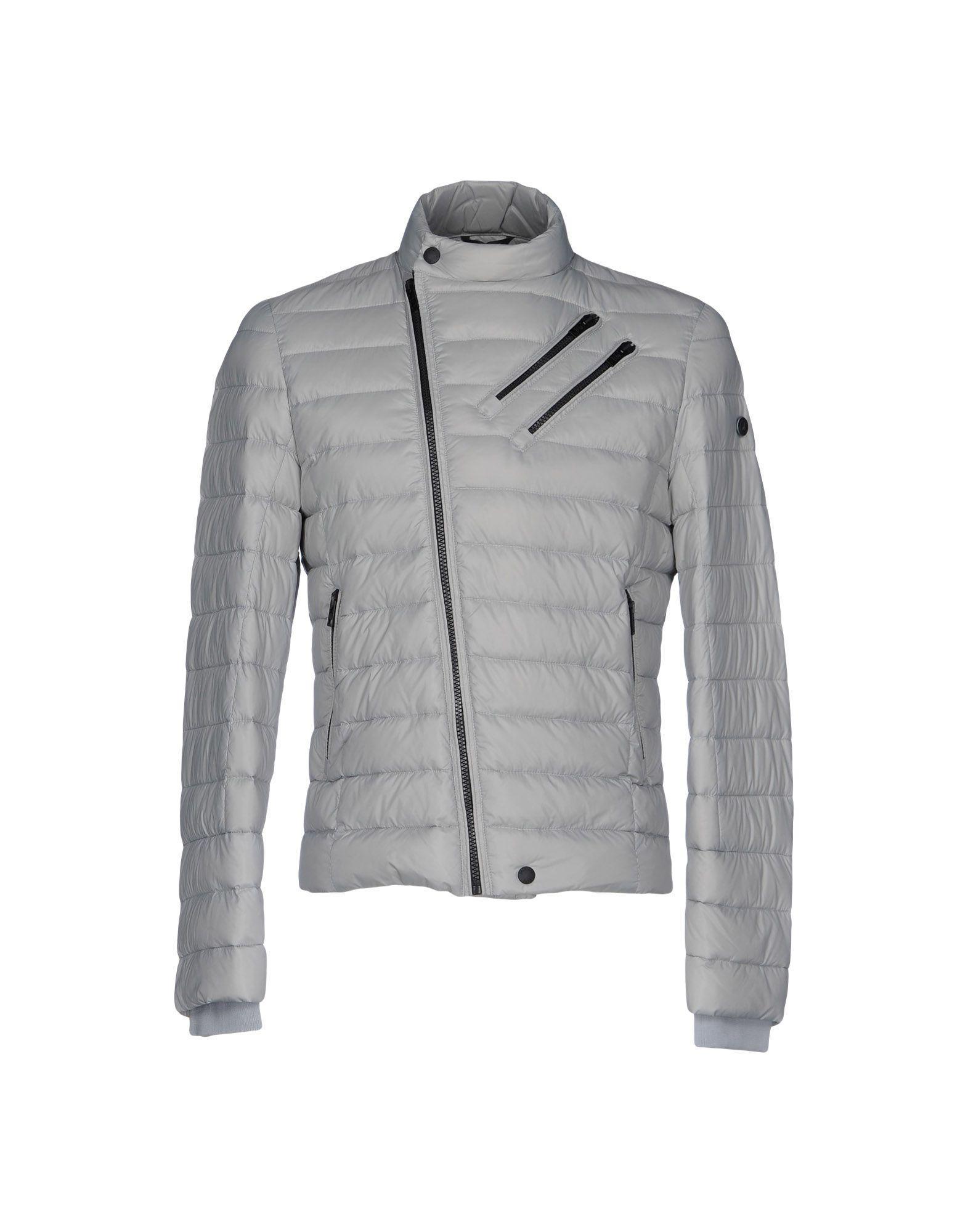 Patrizia Pepe Down Jackets In Light Grey