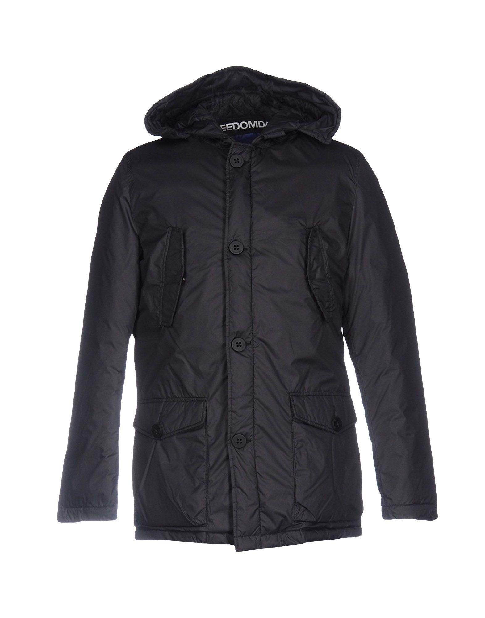 Freedomday Down Jackets In Black