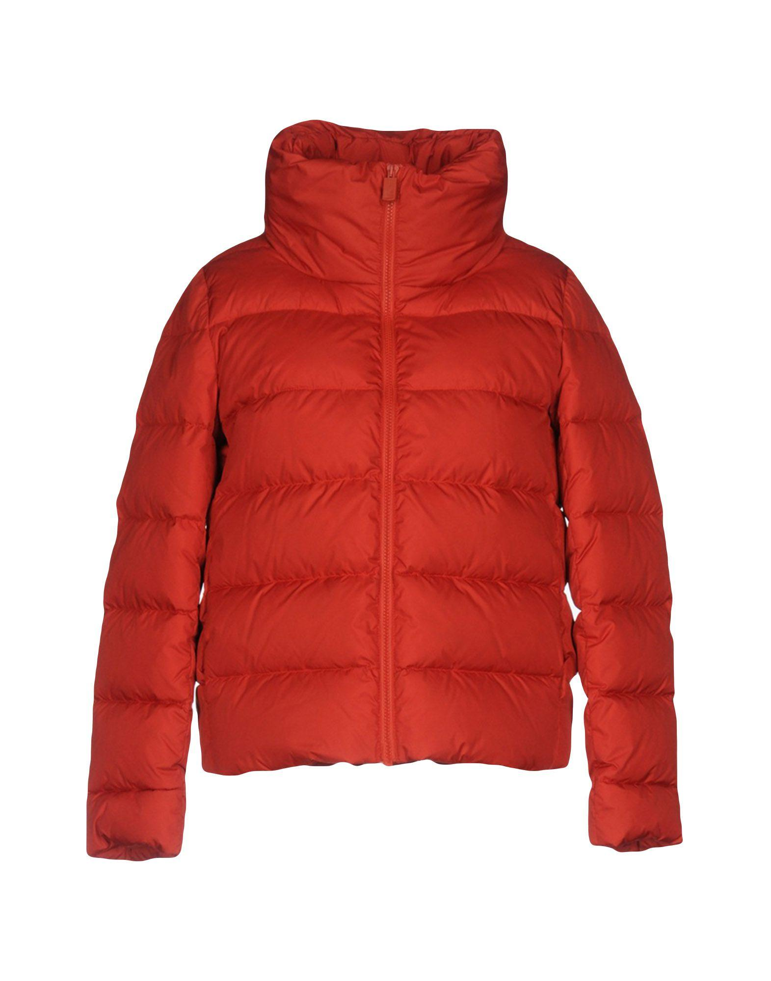 Aspesi Down Jackets In Rust