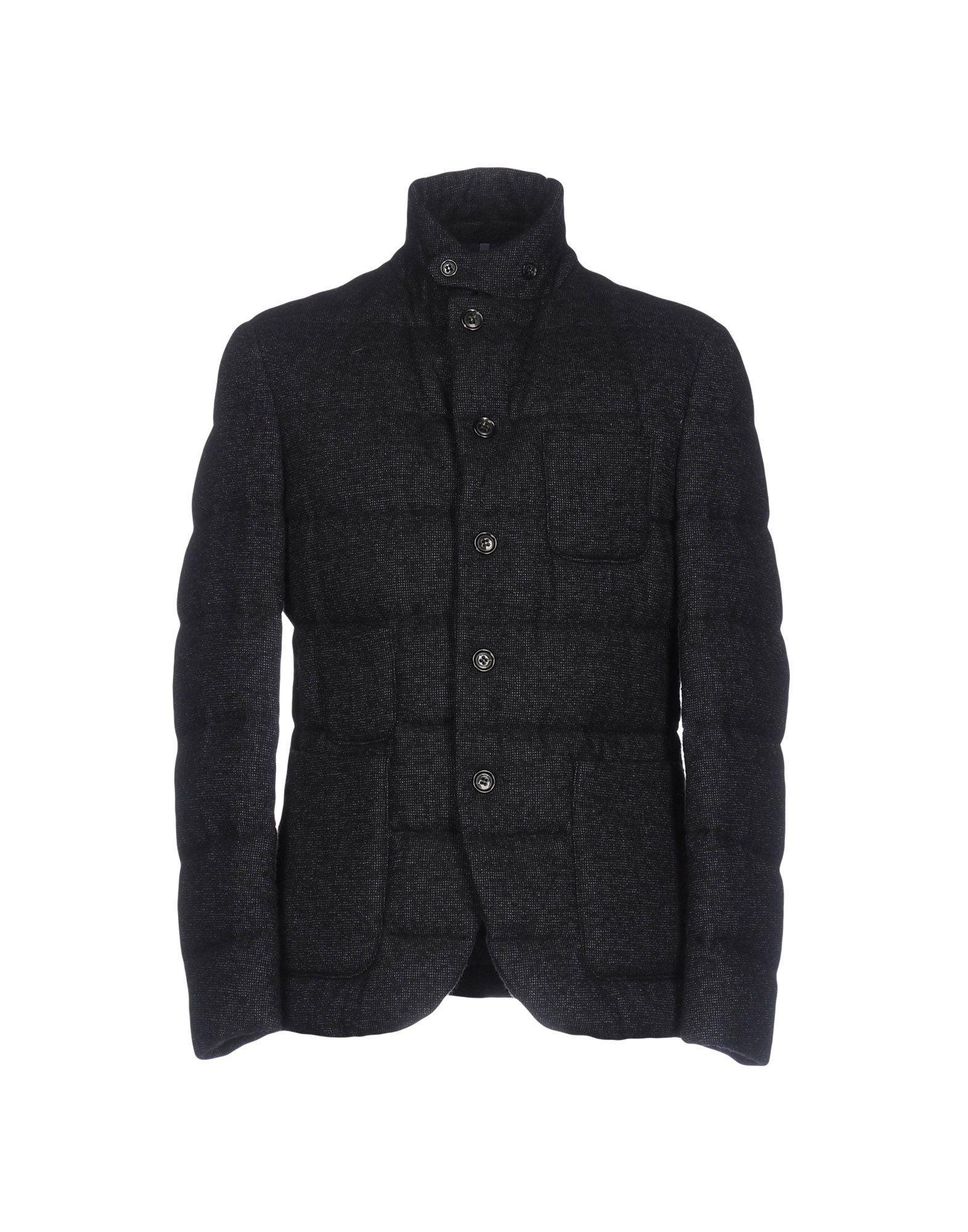 Montedoro Down Jacket In Dark Blue
