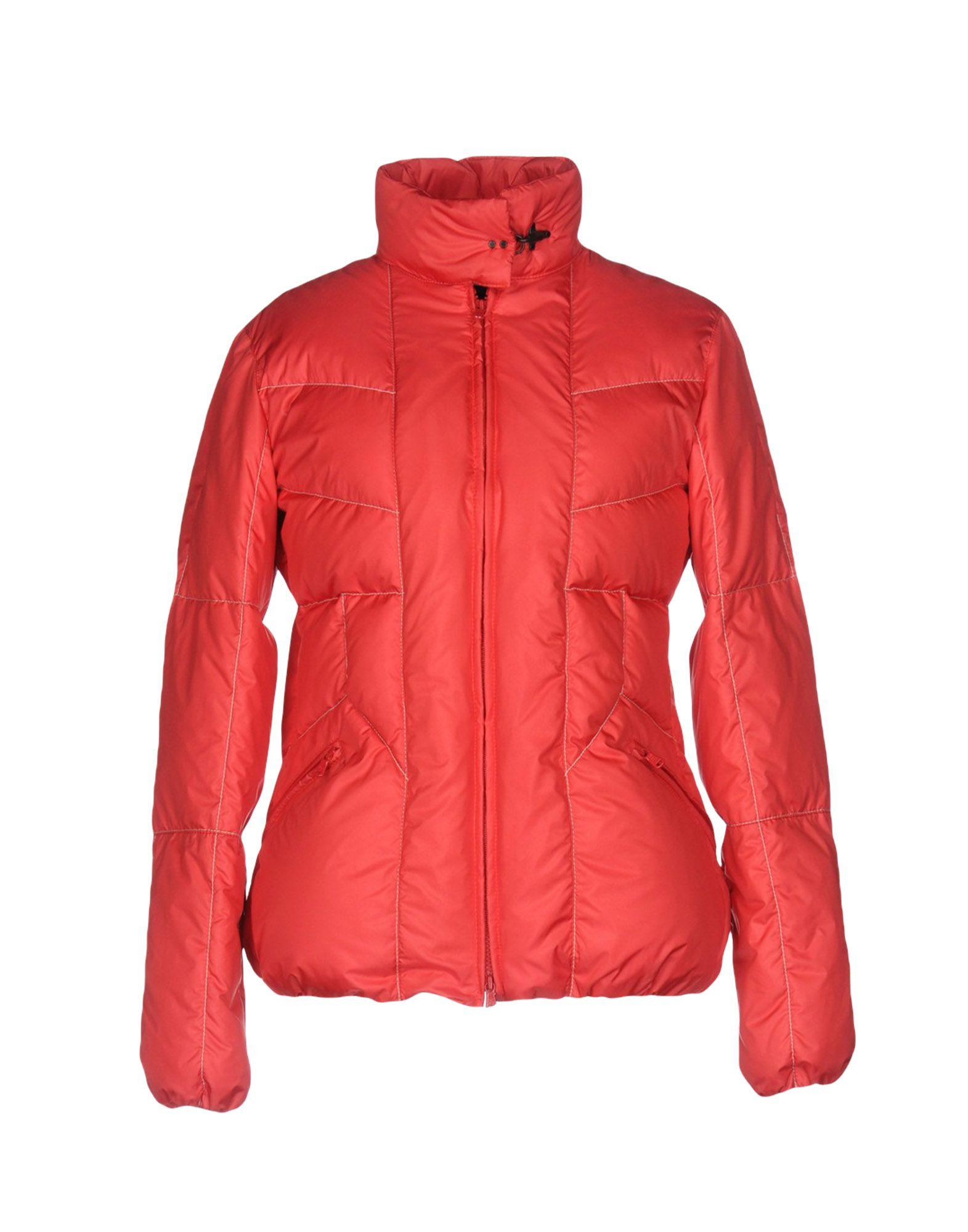 Fay Down Jacket In Red
