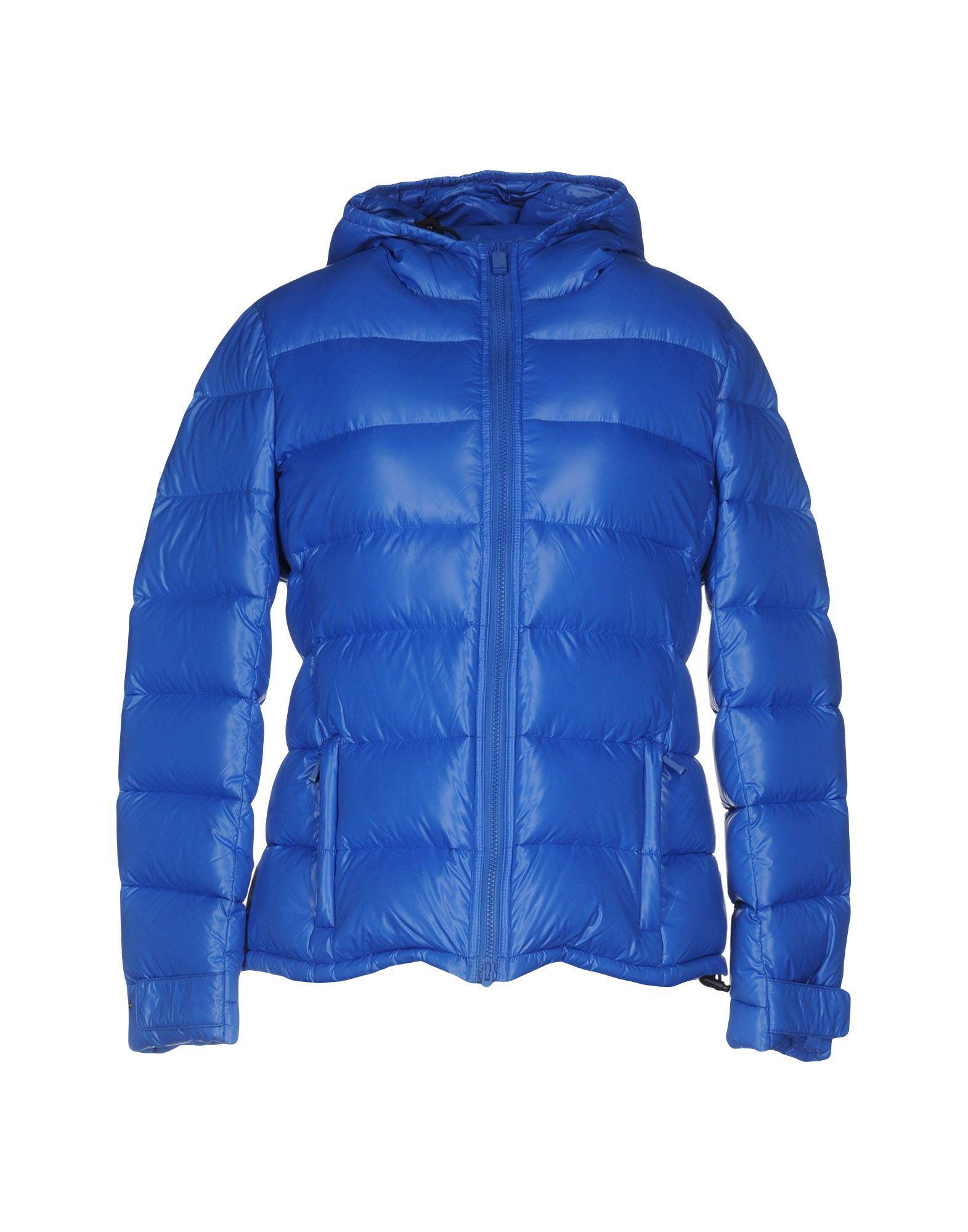 Aspesi Down Jackets In Blue