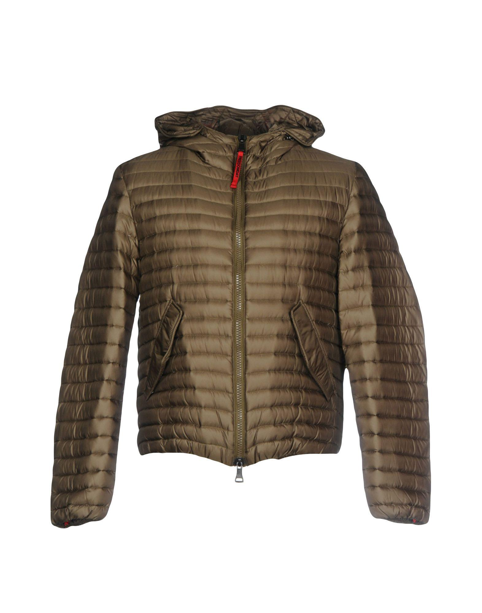Freedomday Down Jacket In Military Green