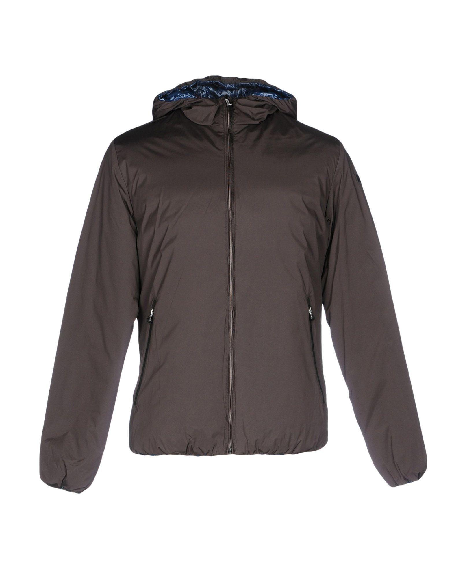 Rrd Down Jacket In Dark Brown