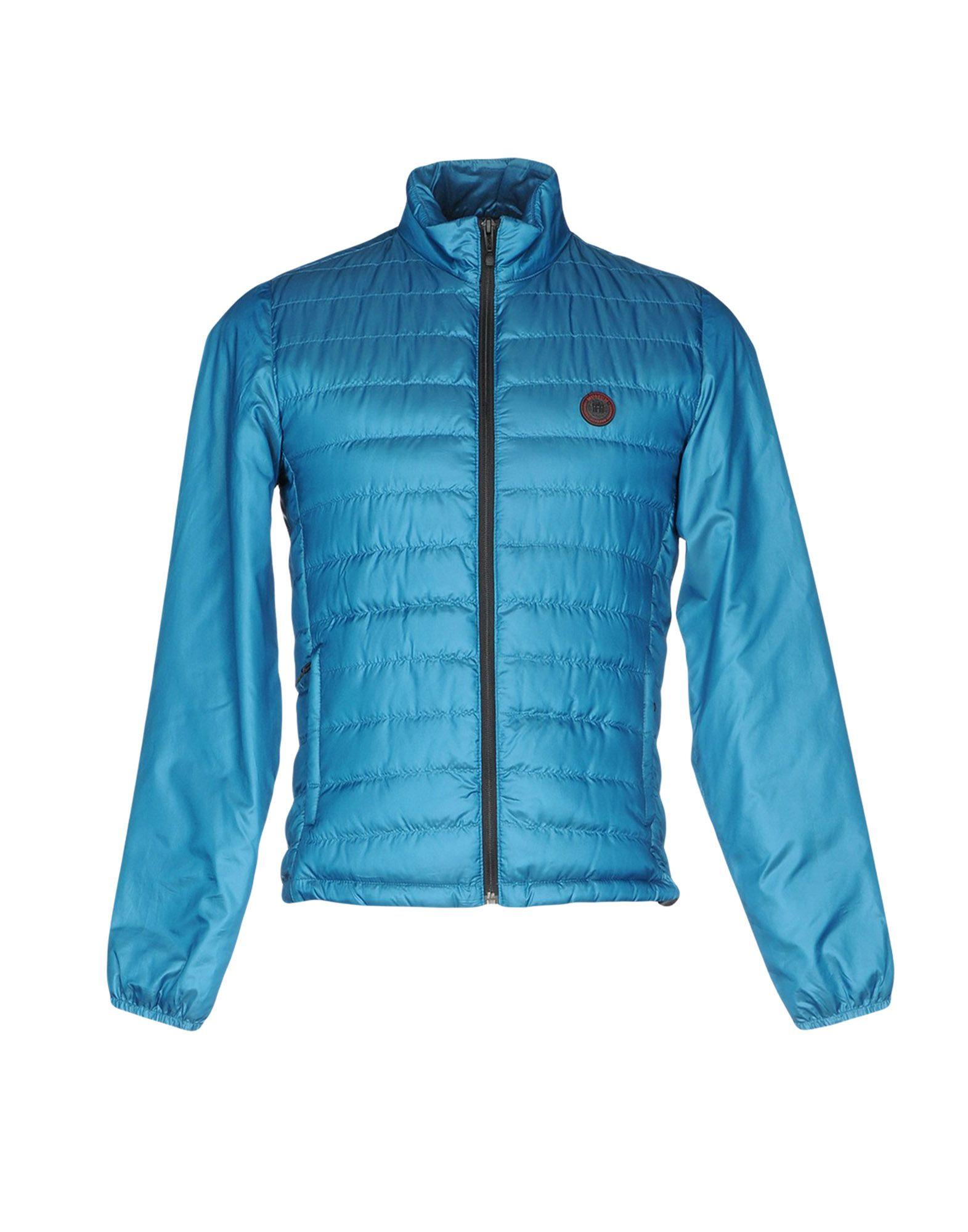 Museum Down Jacket In Turquoise