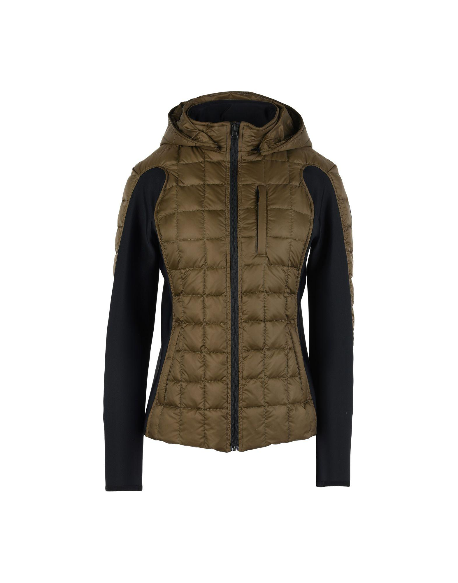 Bacon Down Jacket In Military Green
