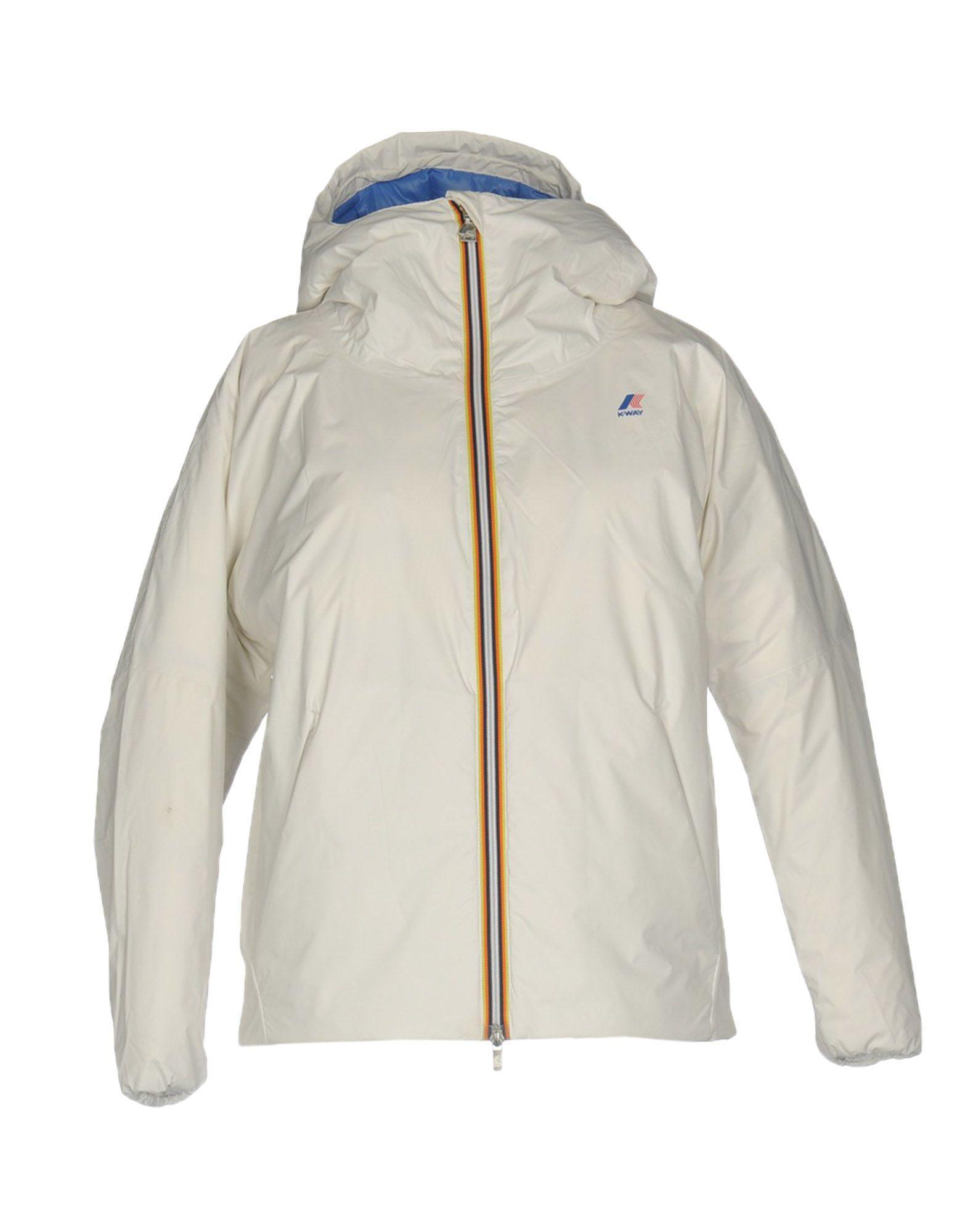 K-way Down Jacket In White