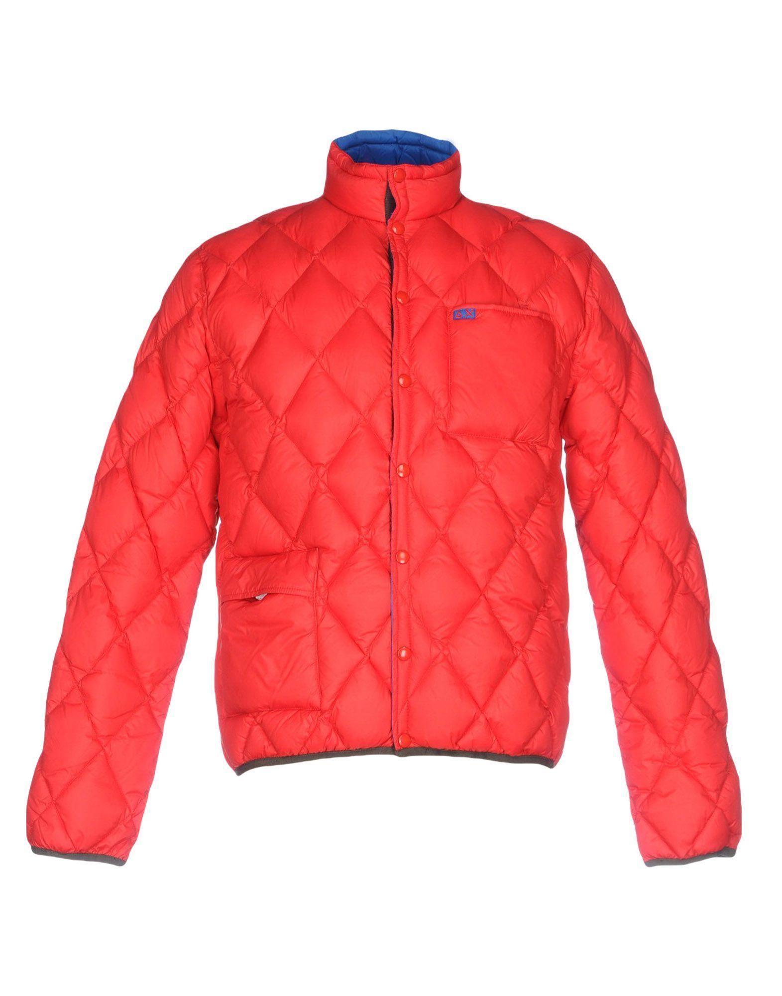 Sun 68 Down Jacket In Red
