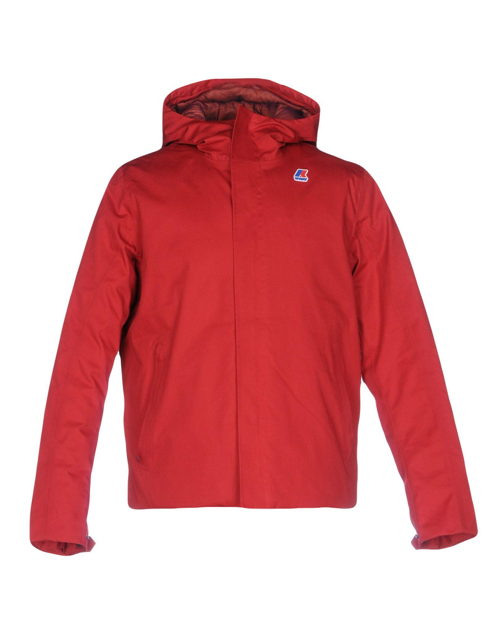 K-way Down Jackets In Red