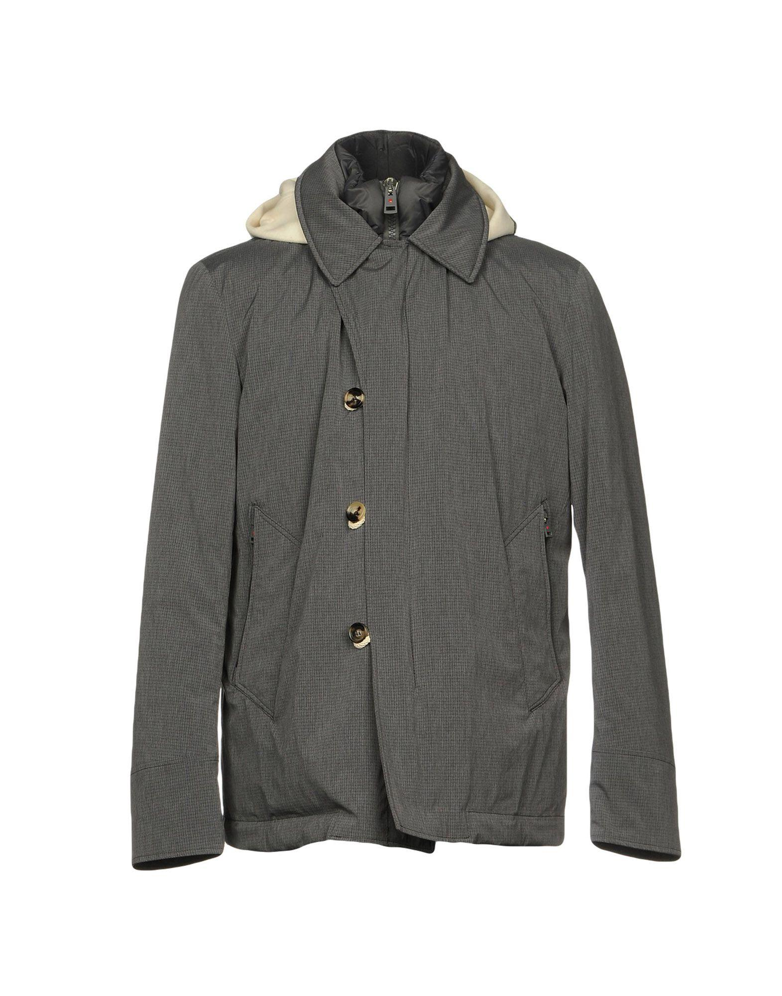 Kired Down Jackets In Grey