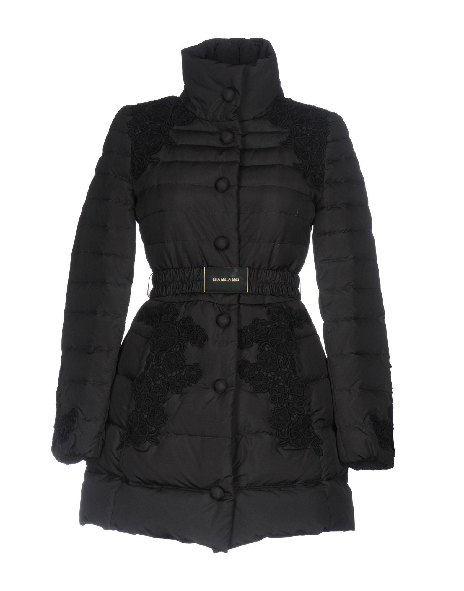 Mangano Down Jackets In Black
