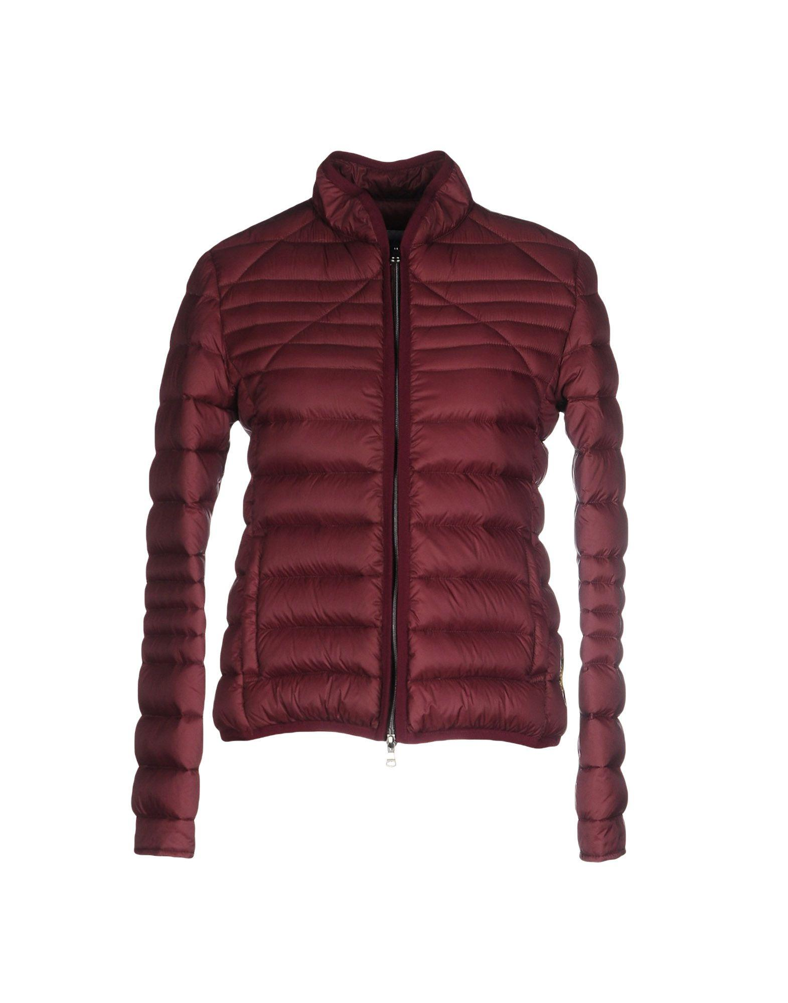 Mauro Grifoni Down Jacket In Maroon