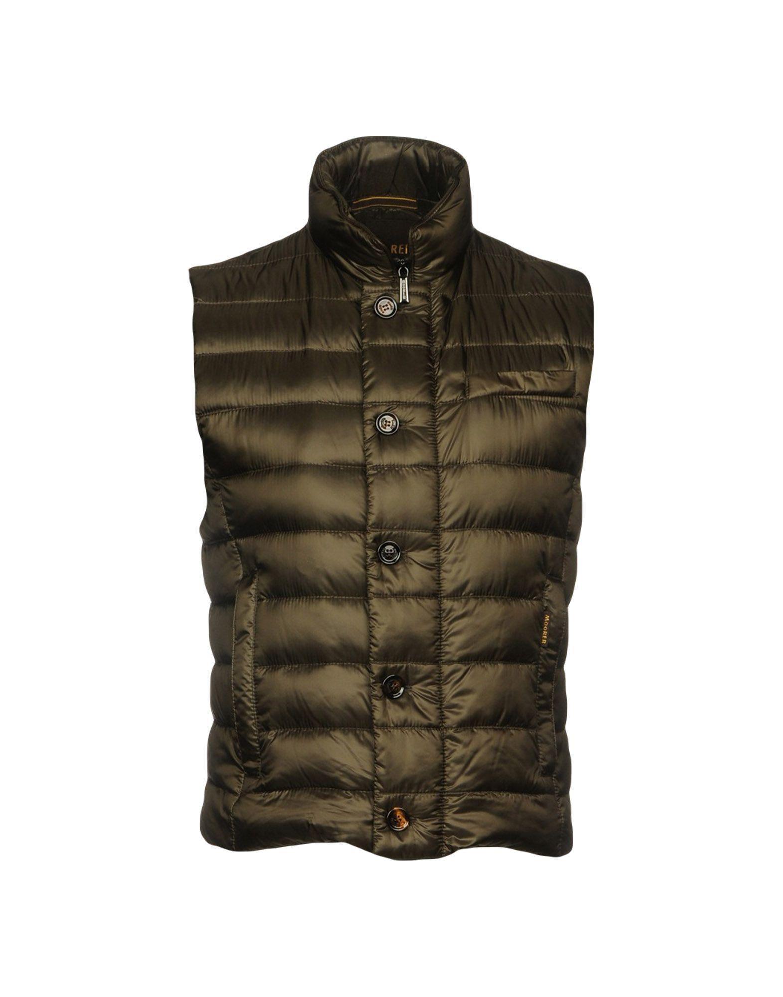 Moorer Down Jacket In Khaki