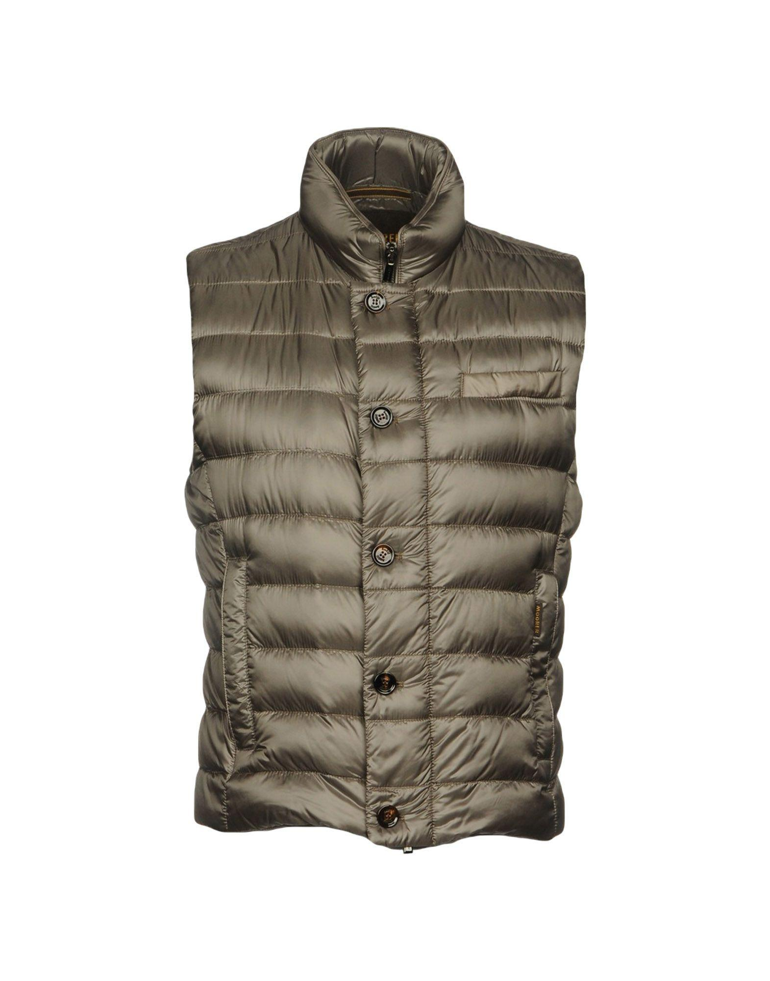 Moorer Down Jackets In Grey