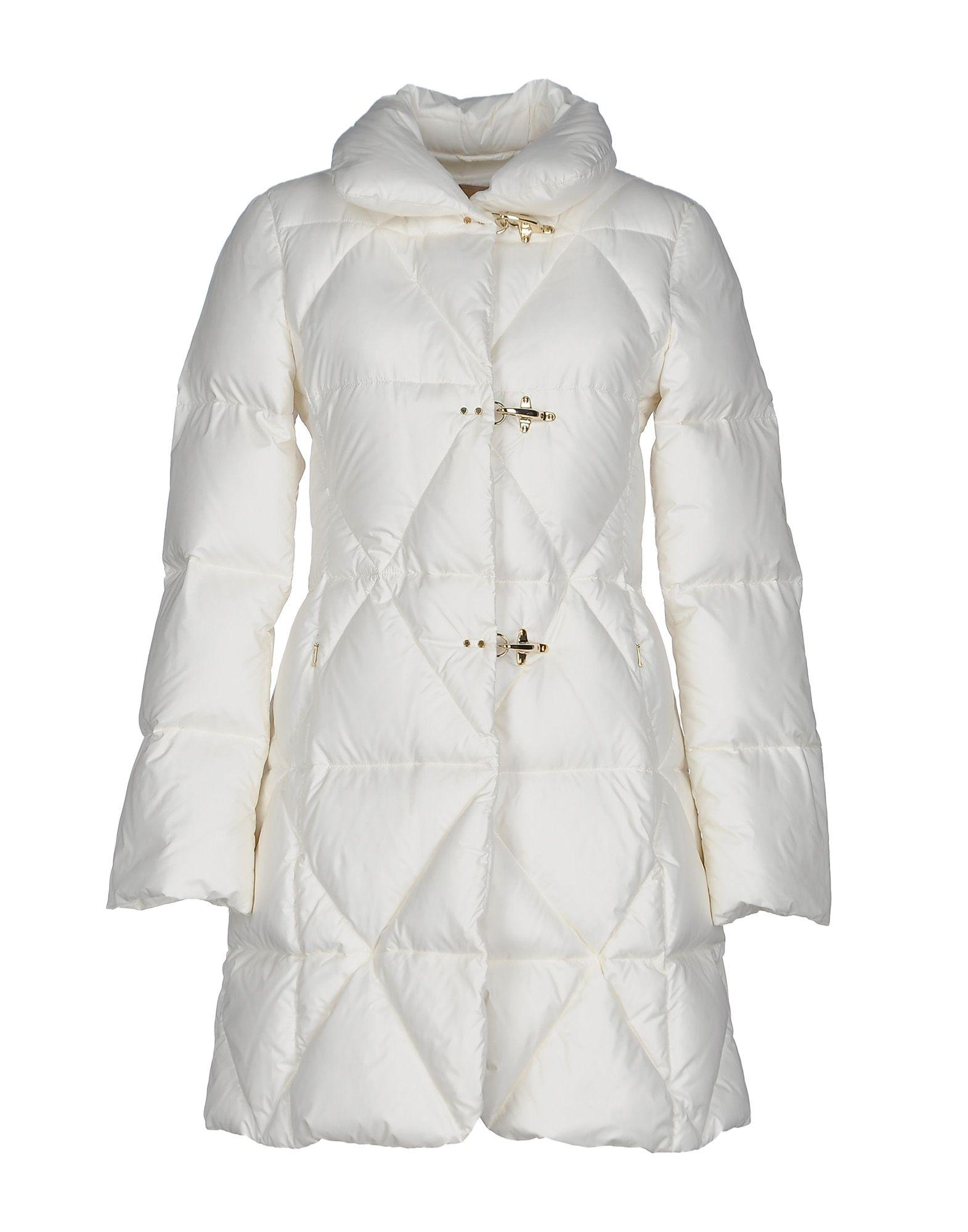Fay Down Jackets In White