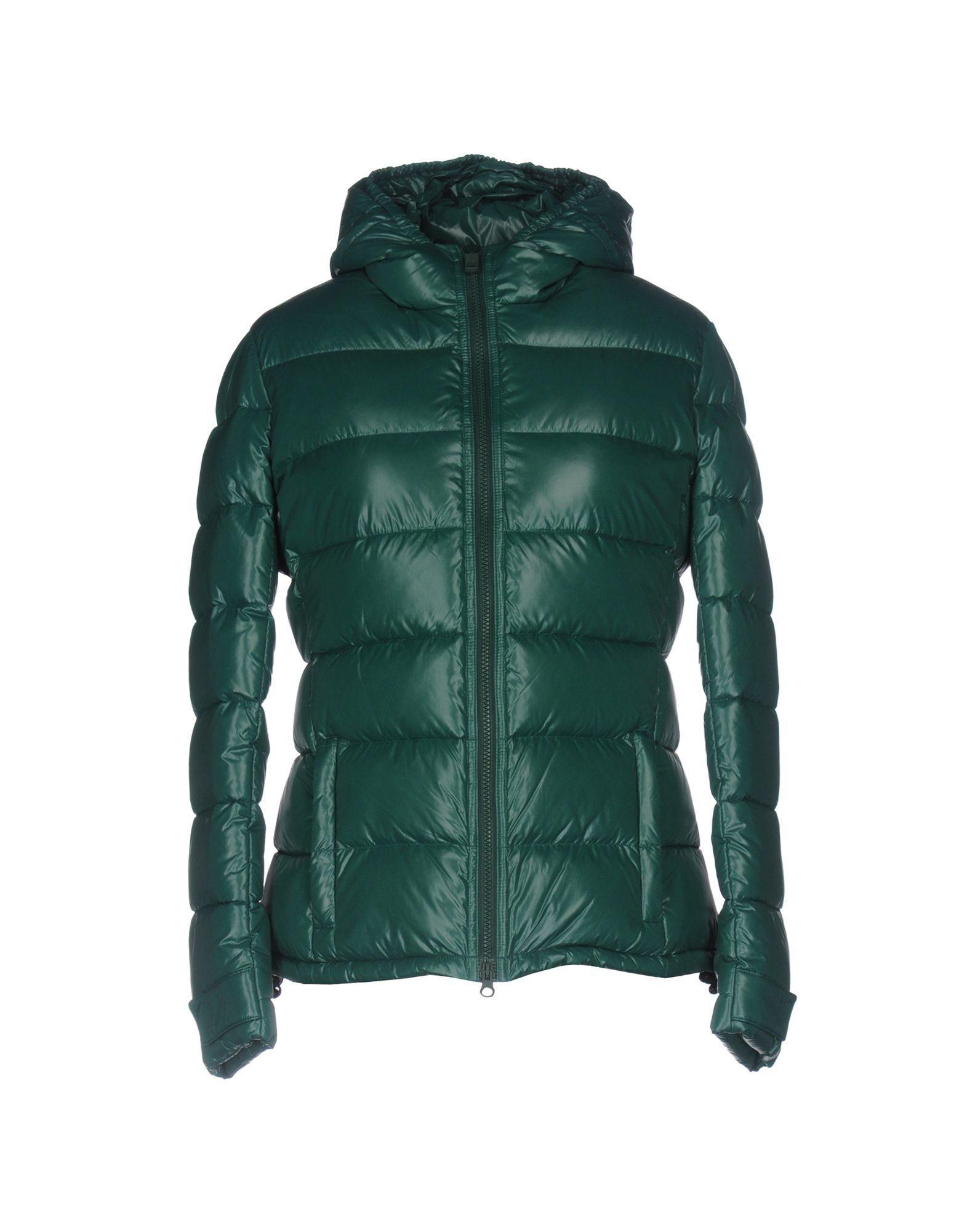 Aspesi Down Jackets In Green