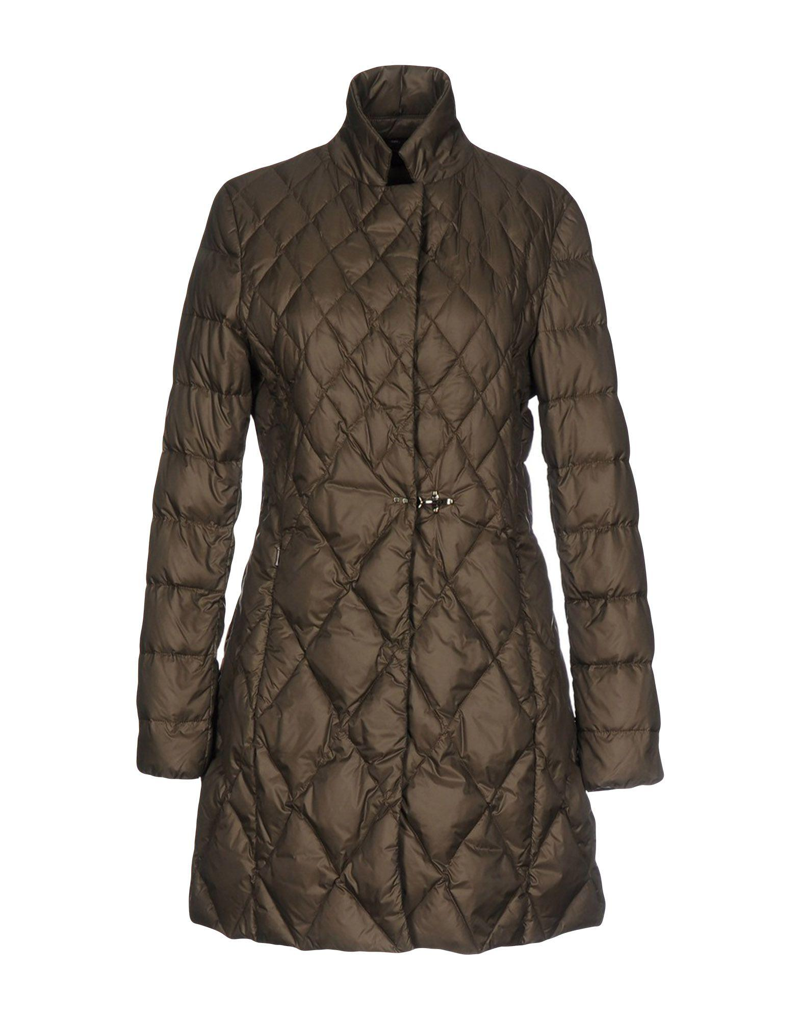 Fay Down Jackets In Dark Brown