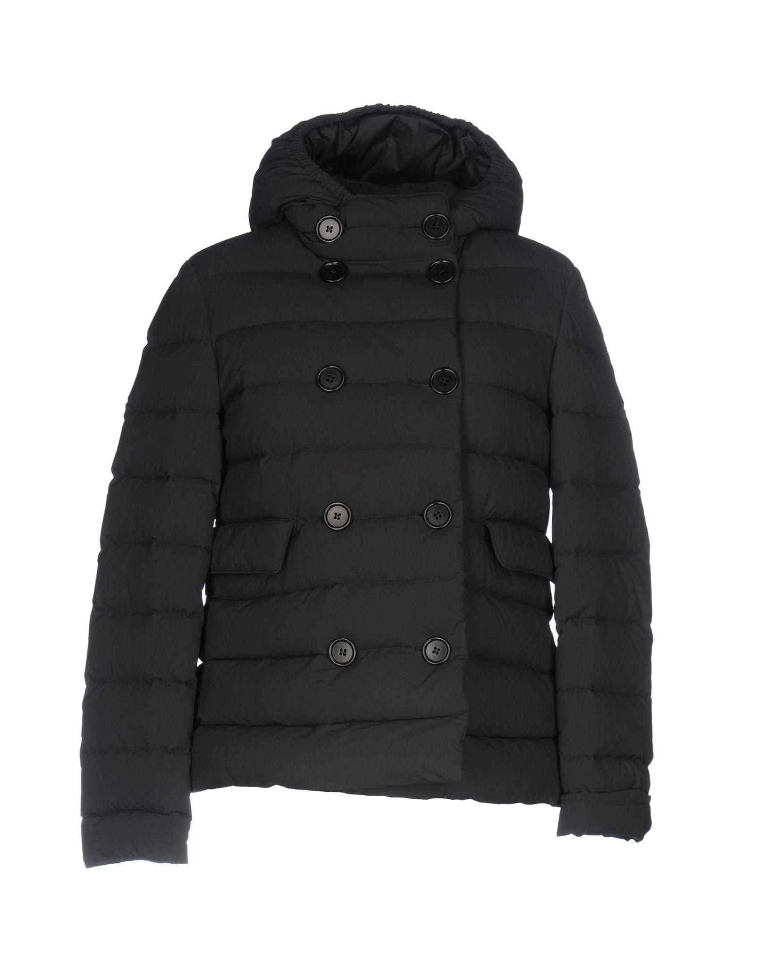 Aspesi Down Jackets In Black