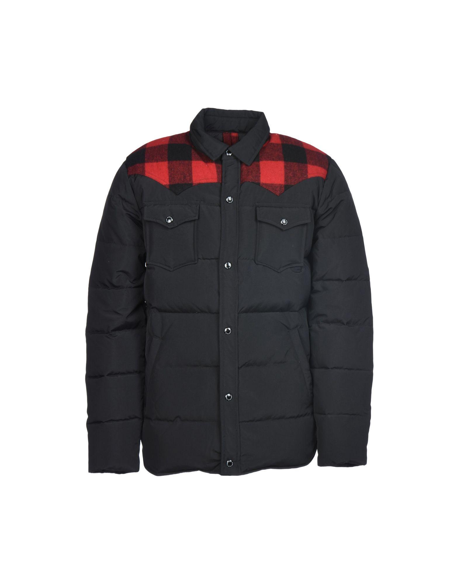 Penfield Down Jacket In Black
