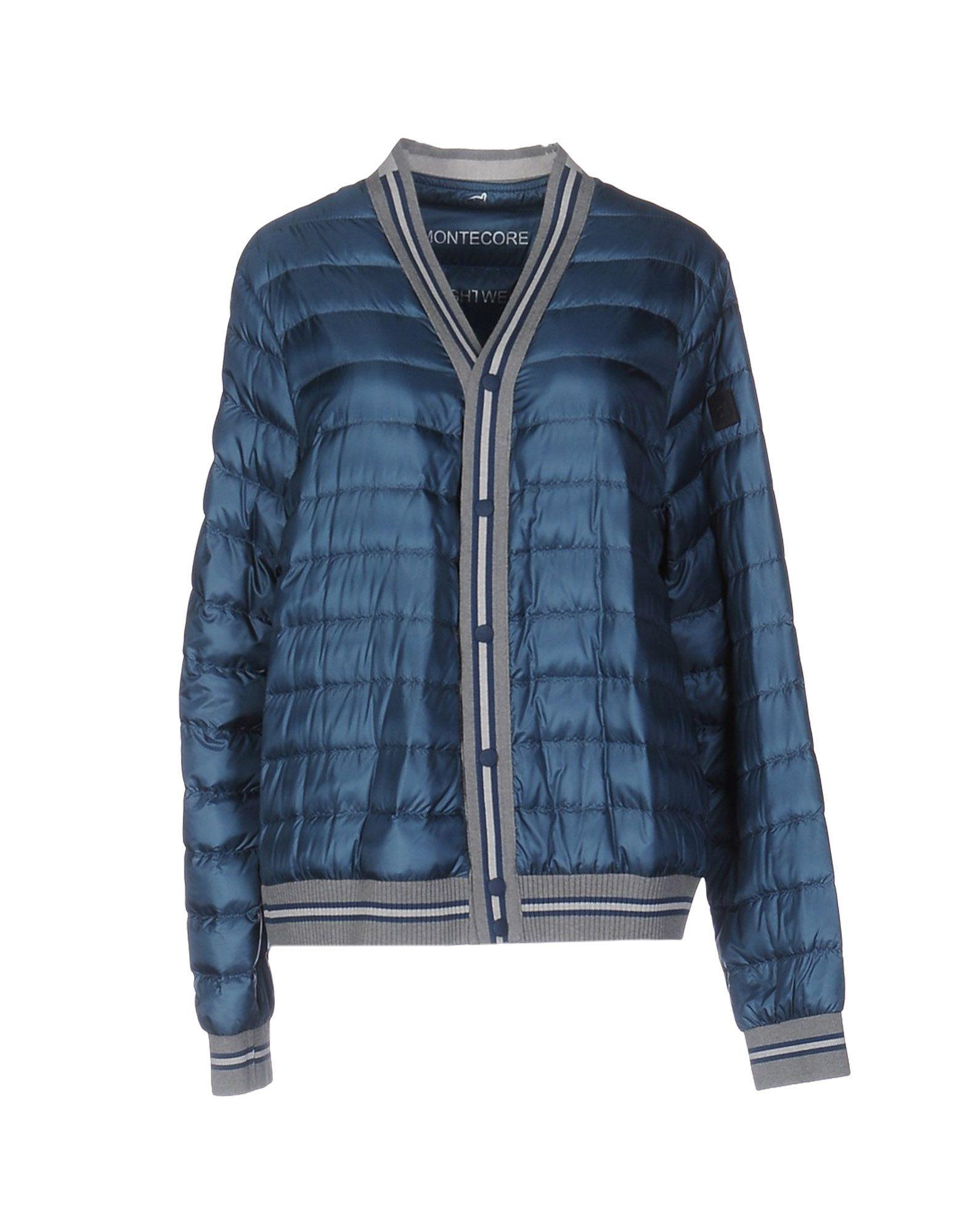 Montecore Down Jackets In Slate Blue