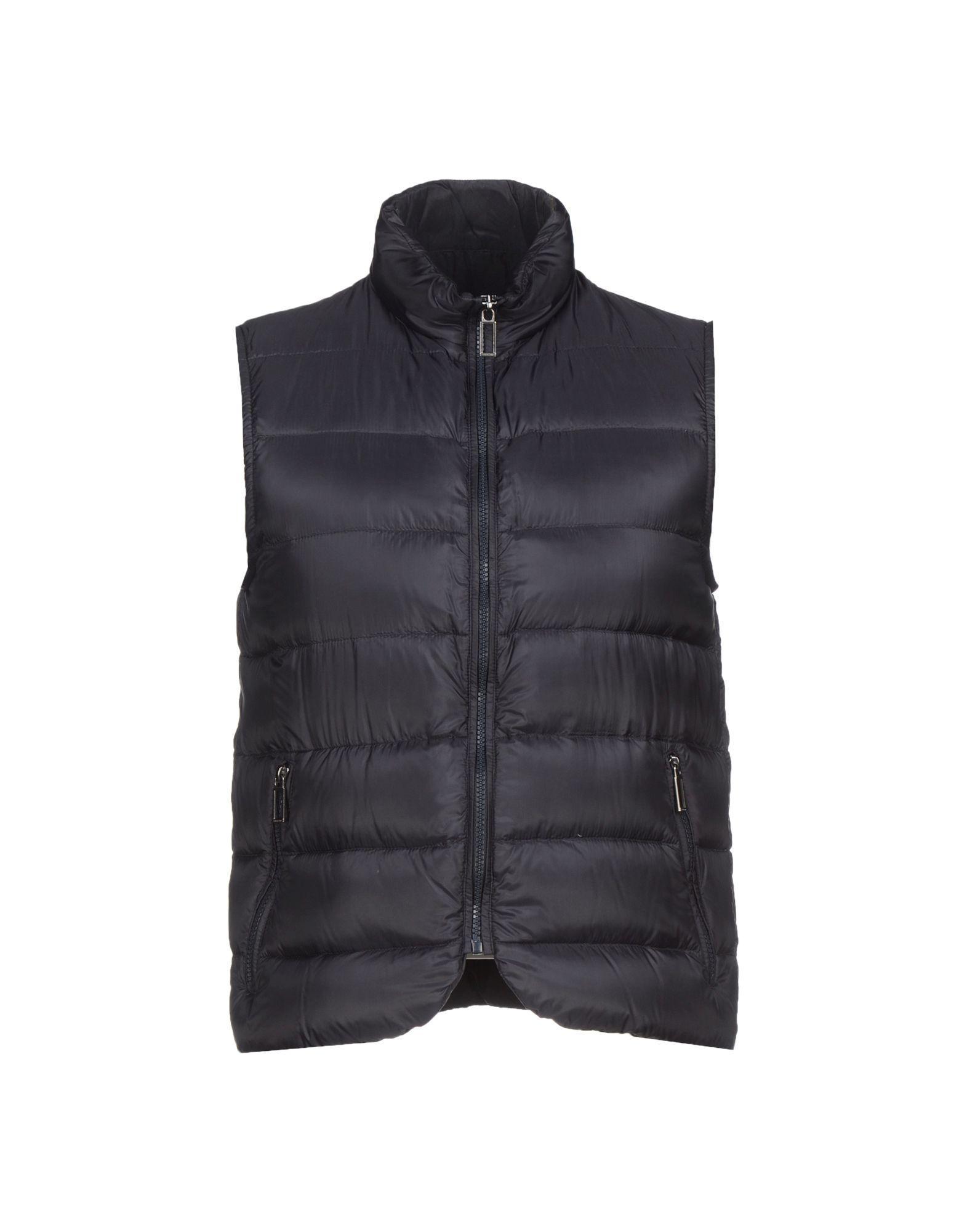 Paoloni Down Jackets In Steel Grey