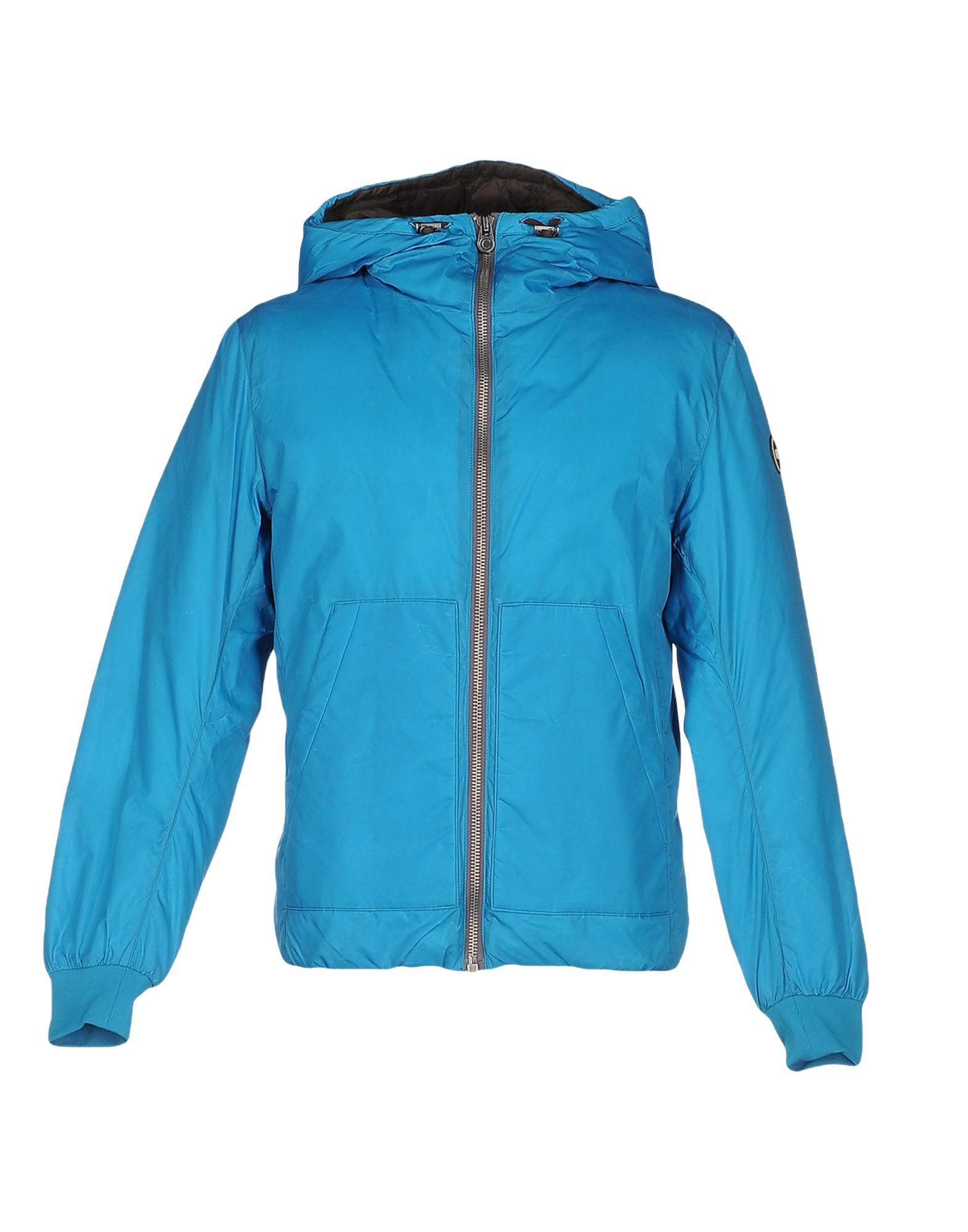 Colmar Originals Down Jackets In Turquoise