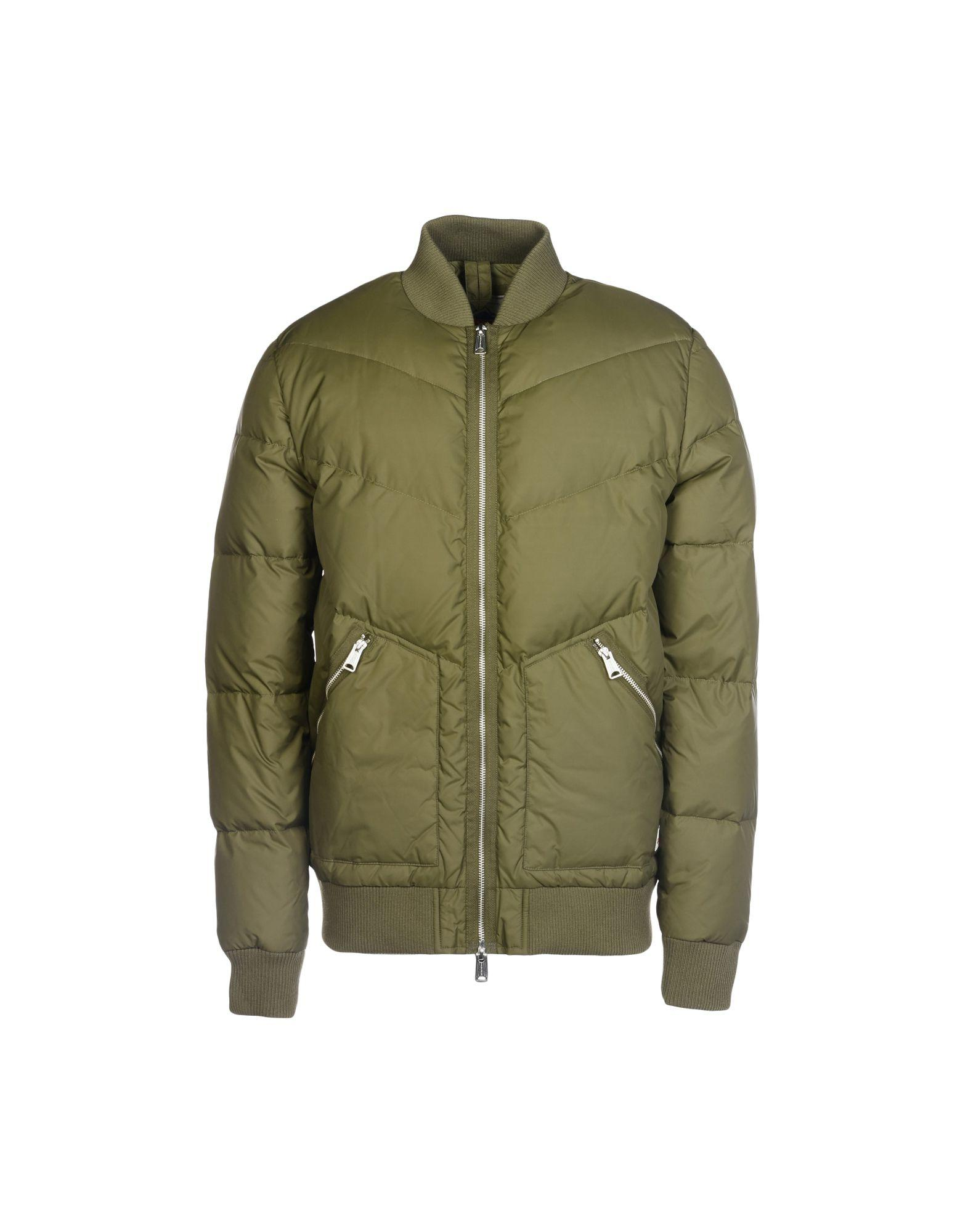 Penfield Down Jacket In Military Green