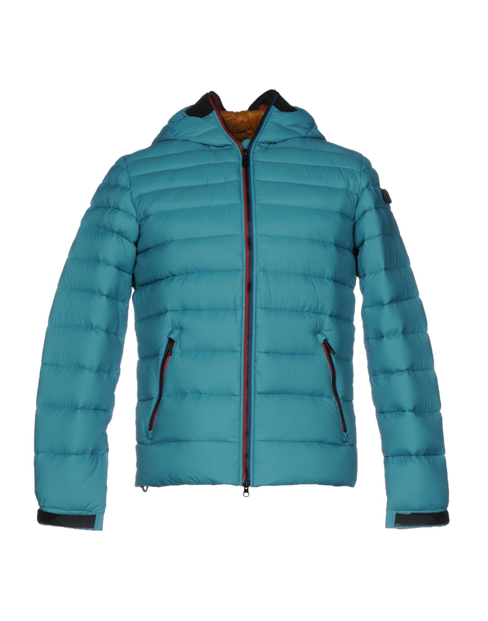 Ai Riders On The Storm Down Jacket In Turquoise