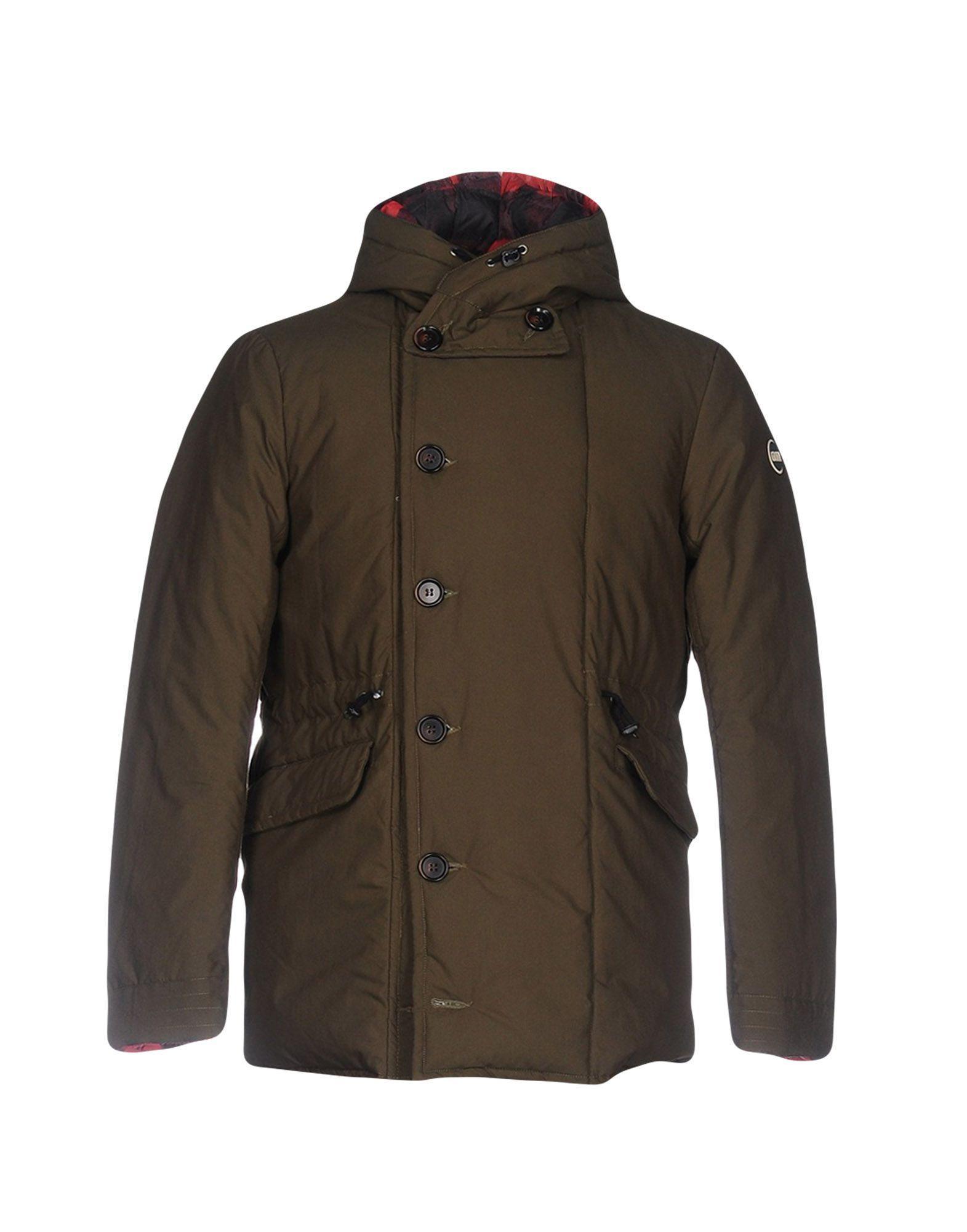 Colmar Originals Down Jackets In Dark Green