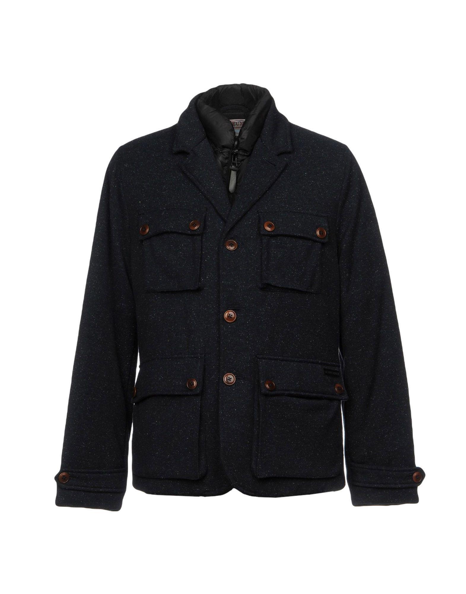 Museum Down Jackets In Dark Blue