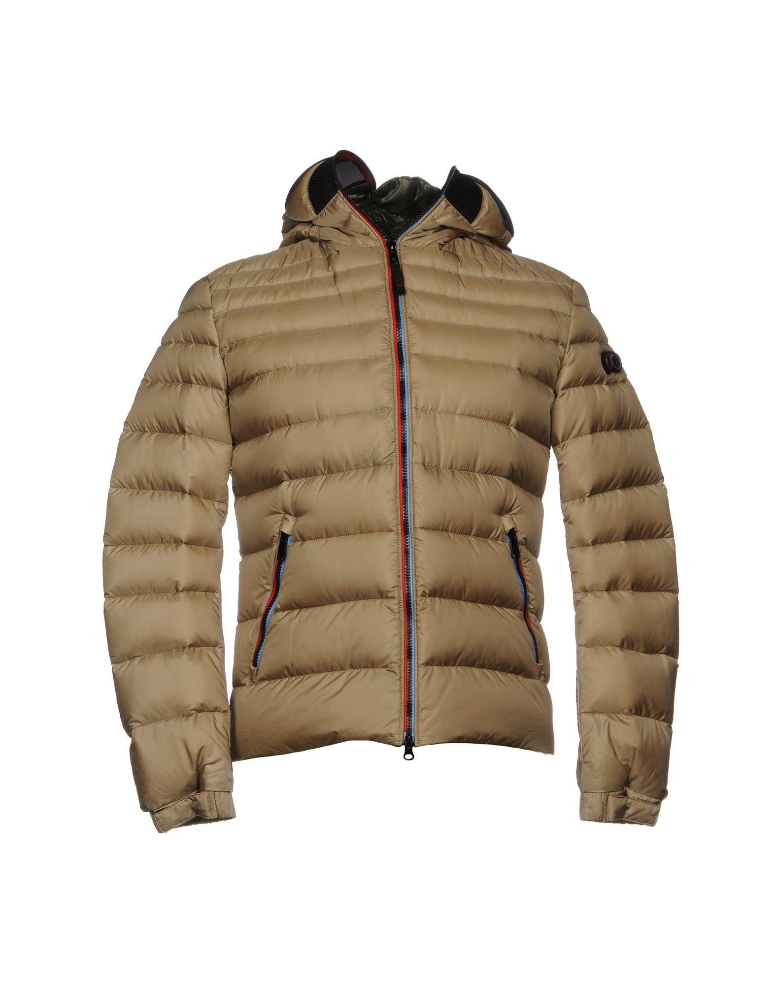 Ai Riders On The Storm Down Jackets In Khaki