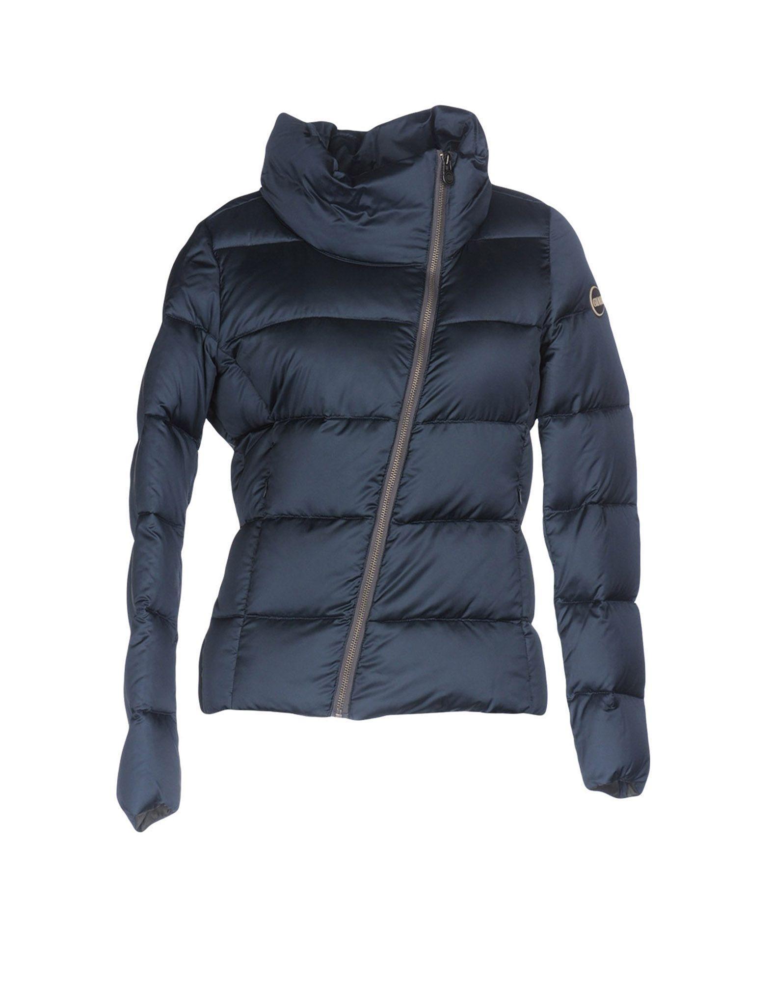 Colmar Originals Down Jacket In Slate Blue