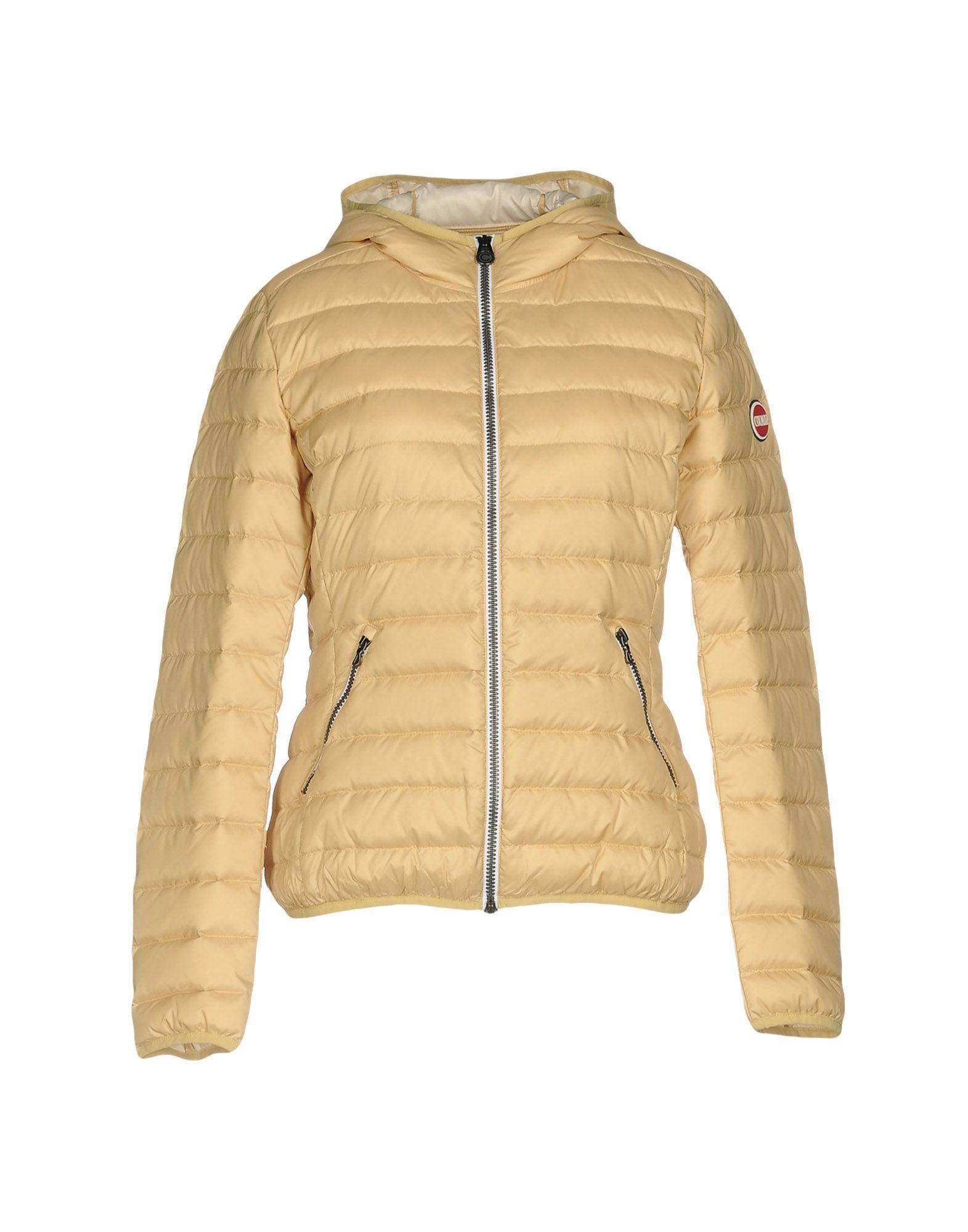 Colmar Originals Down Jackets In Yellow