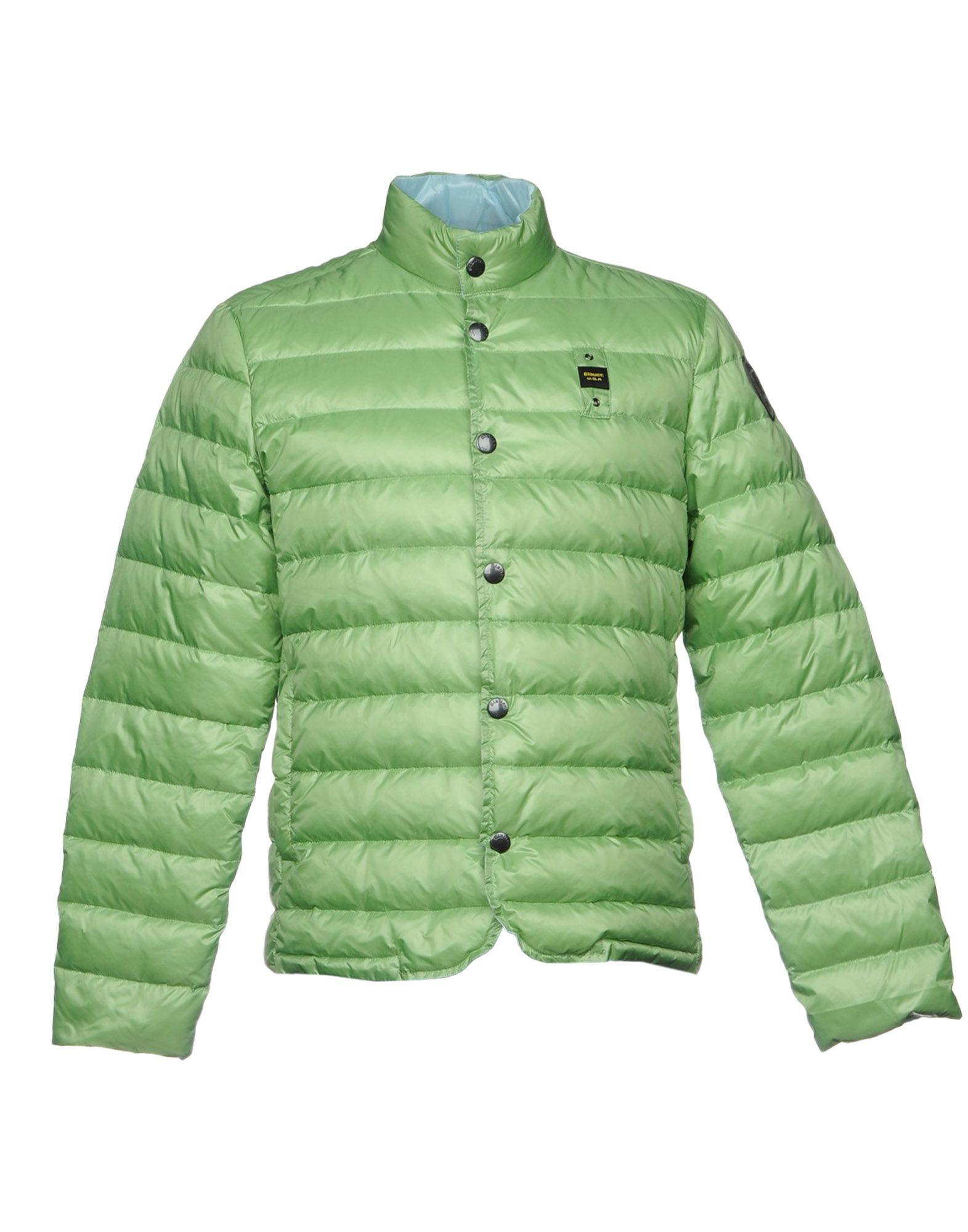 Blauer Down Jacket In Light Green