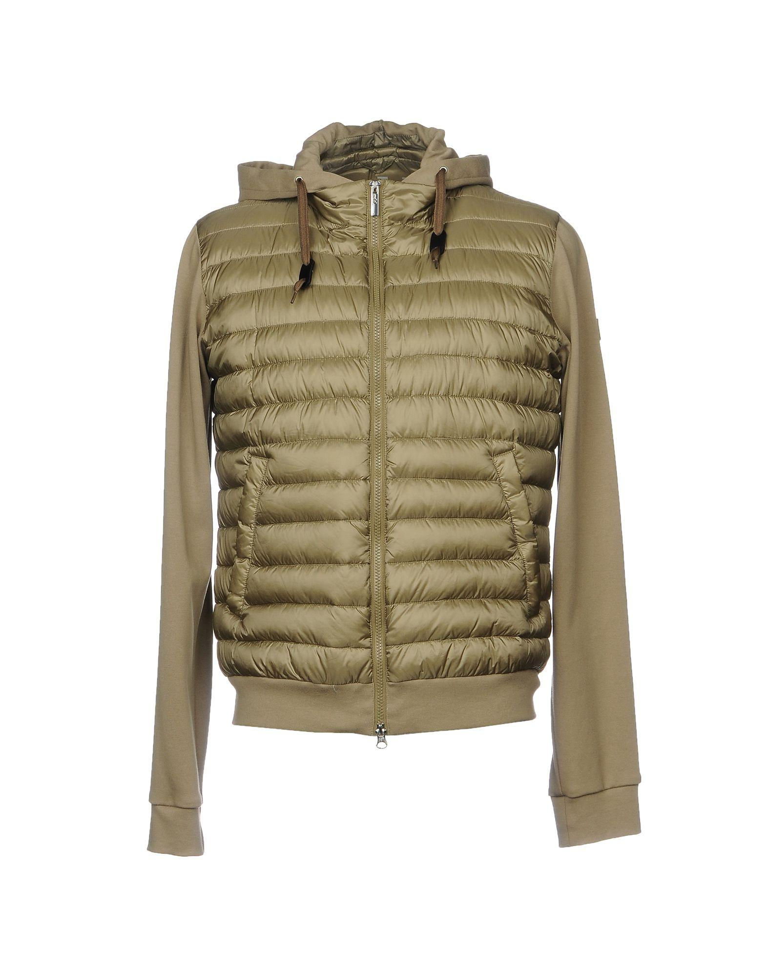 Add Down Jackets In Military Green