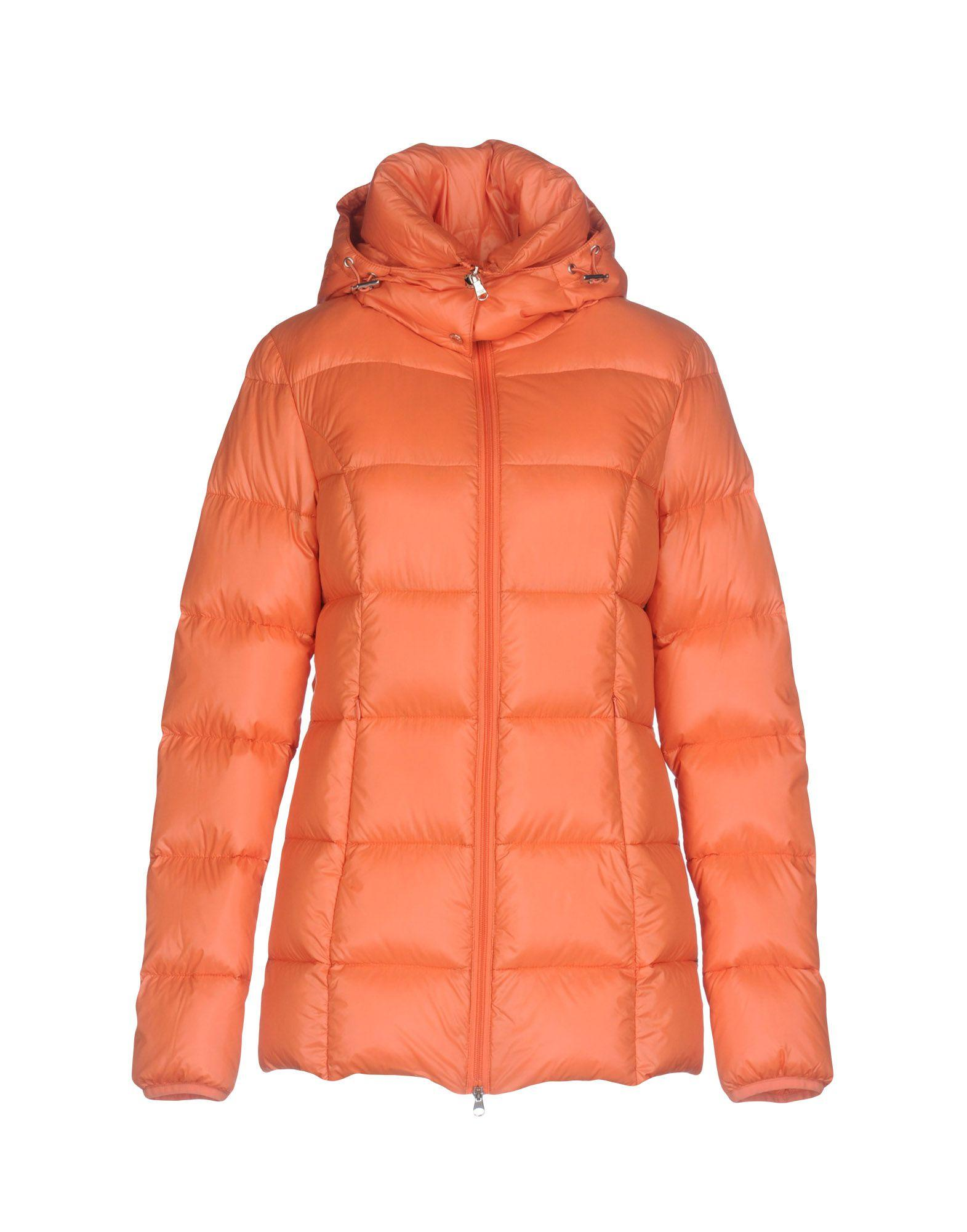 Patrizia Pepe Down Jackets In Orange