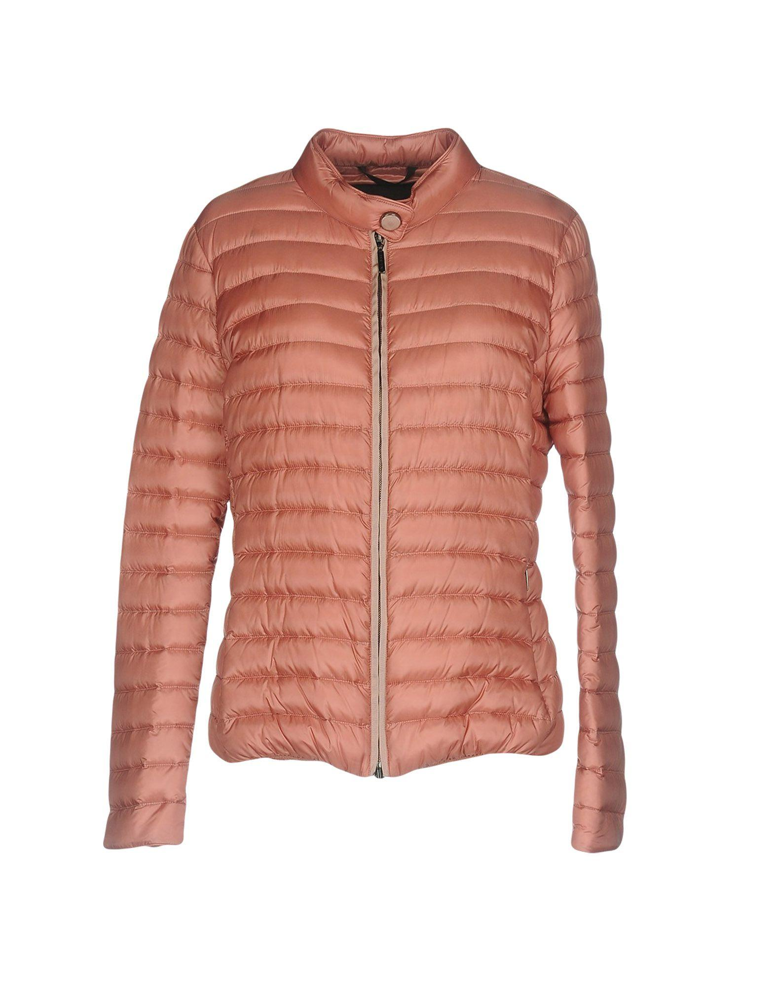 Moorer Down Jacket In Pastel Pink