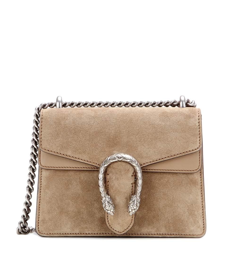 949d5b262502 Gucci Dionysus Mini Suede Shoulder Bag In Beige | ModeSens