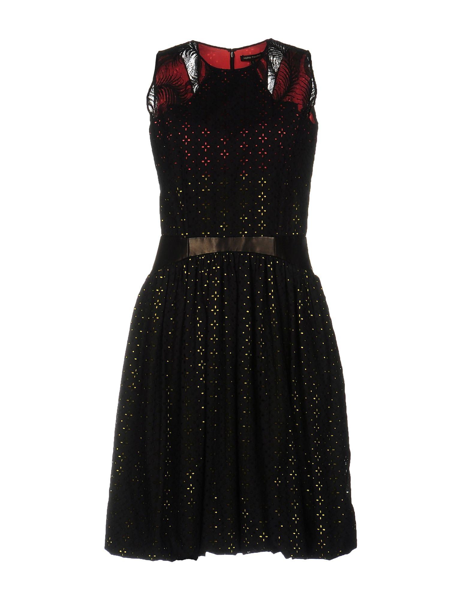 Sophie Theallet Knee-Length Dresses In Black