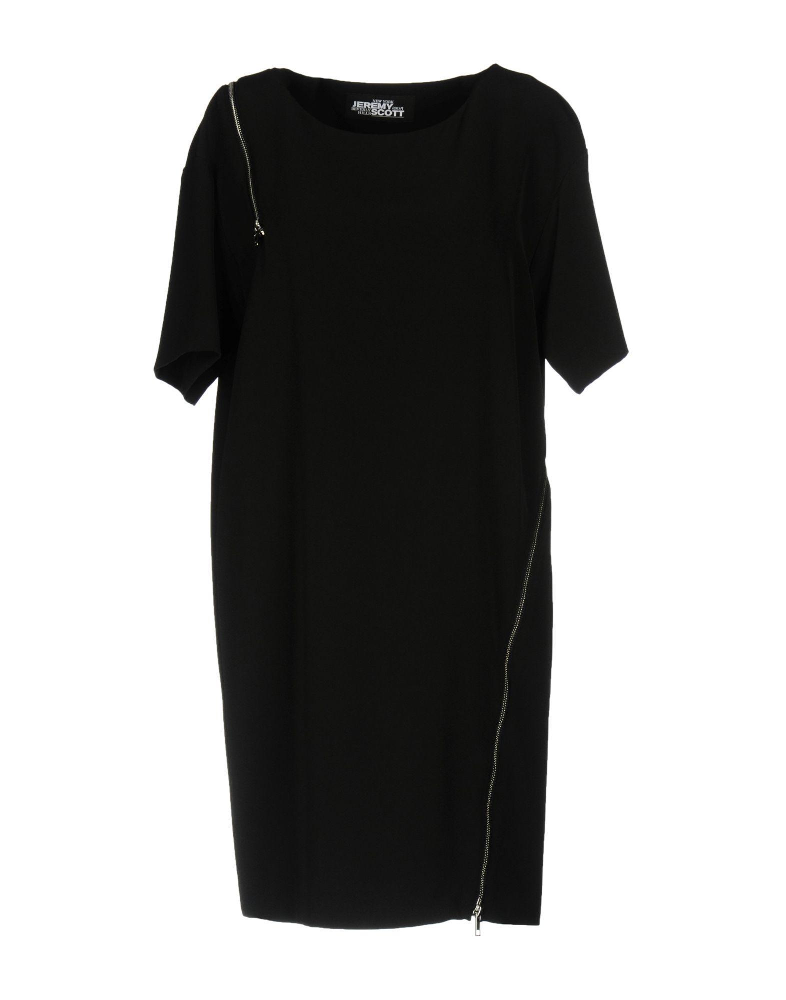 Jeremy Scott Short Dress In Black