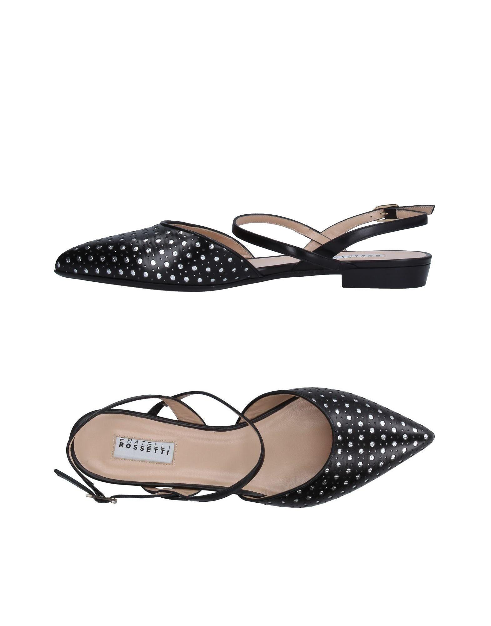 ad2a1ab42 Fratelli Rossetti Ballet Flats In Black | ModeSens